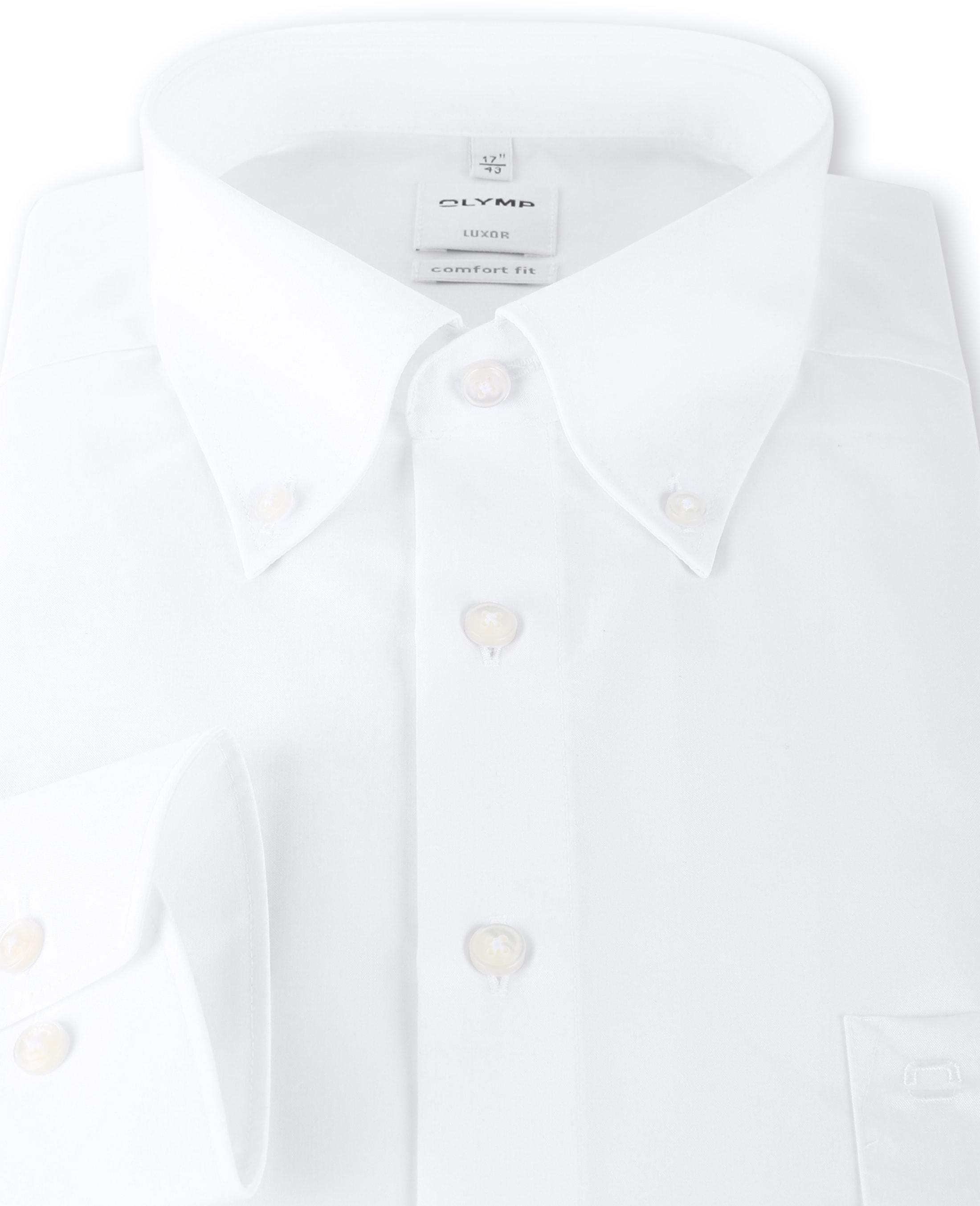 OLYMP Luxor Bügelfrei Hemd Weiß Comfort Fit foto 2