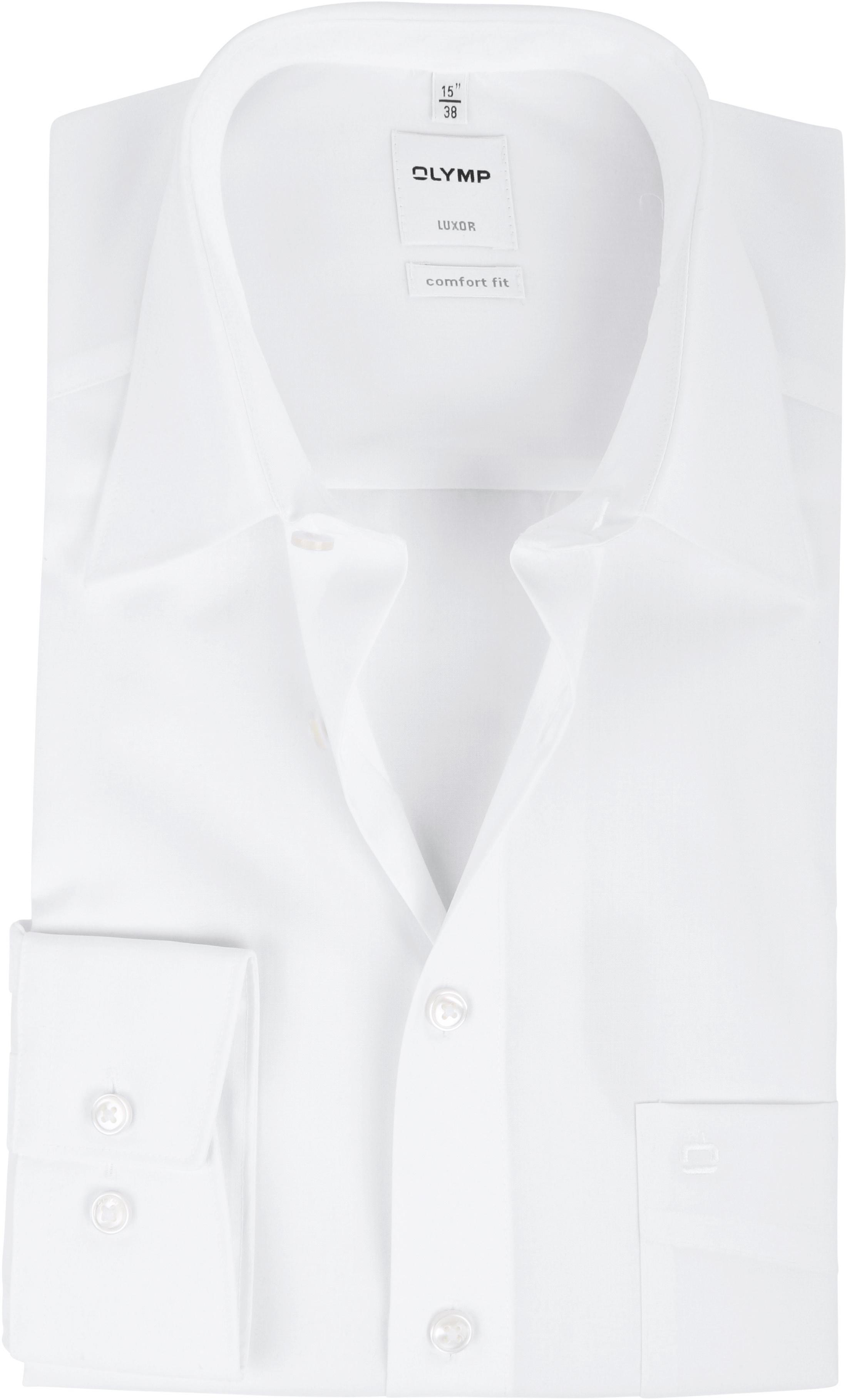 OLYMP Luxor Comfort Fit Overhemd Wit foto 0