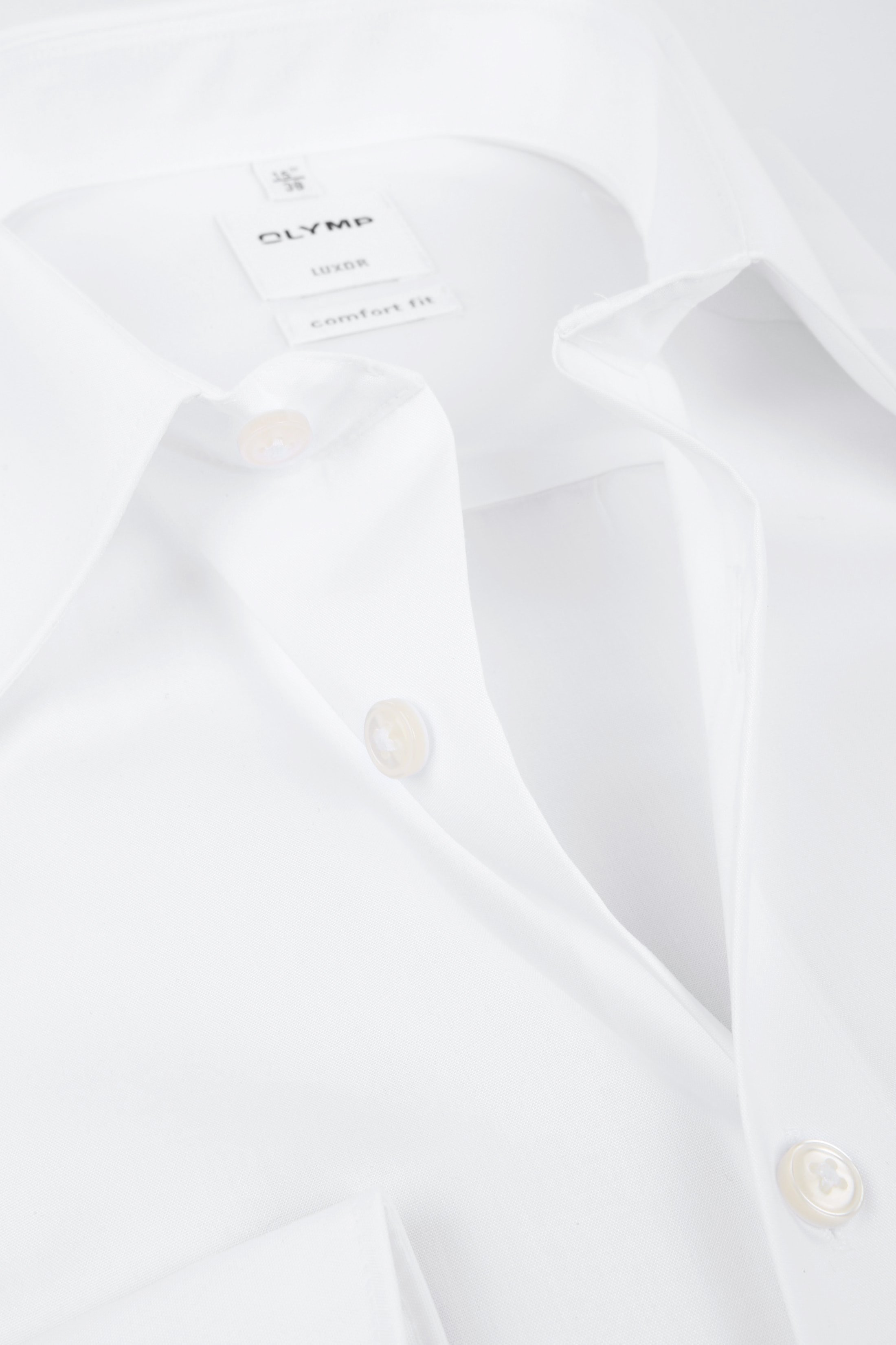 OLYMP Luxor Comfort Fit Overhemd Wit foto 1