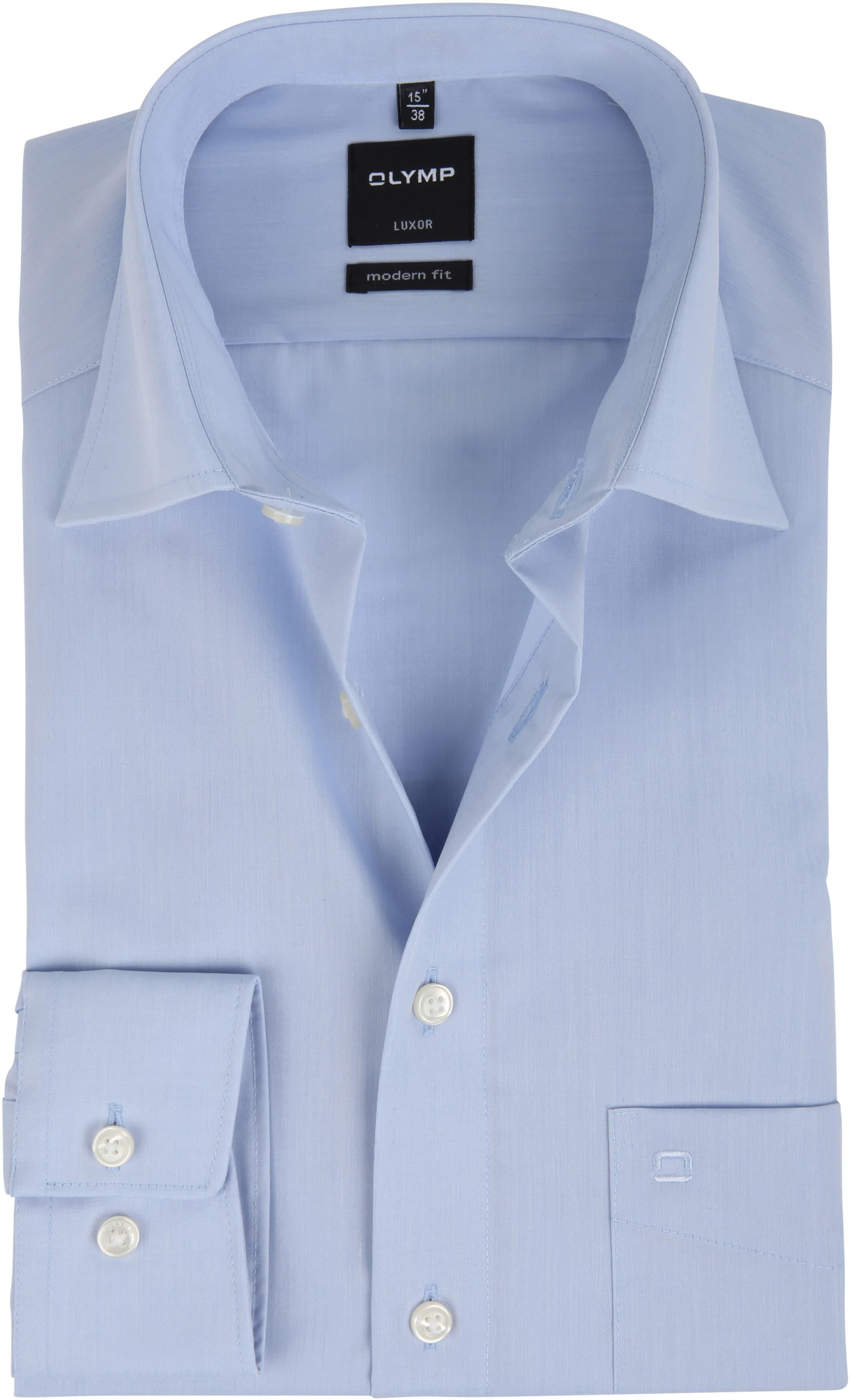 OLYMP Luxor Hemd Modern Fit Light Blue