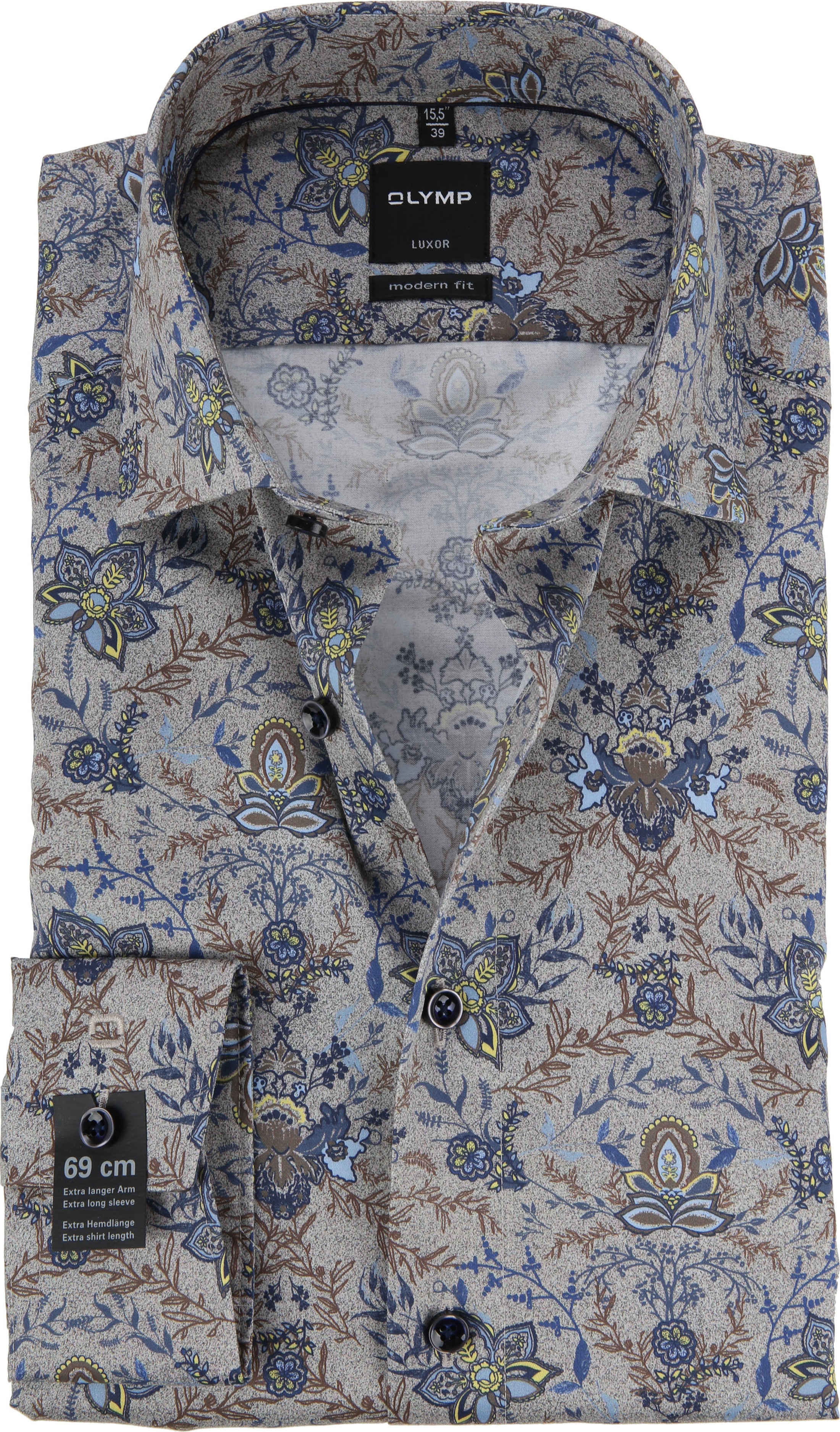 OLYMP Luxor MF Hemd Blume SL7 120439 online kaufen | Suitable