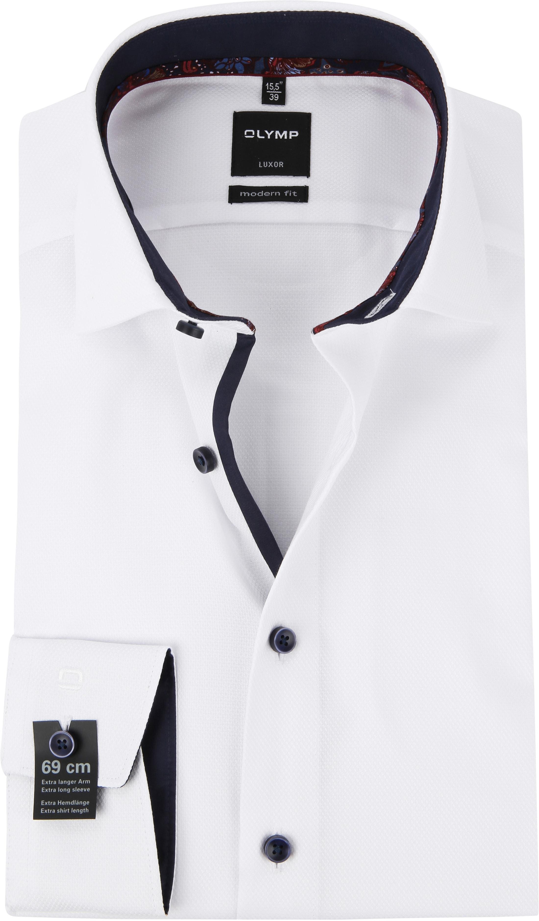 OLYMP Luxor MF Hemd Weiß Dessin SL7 120449 online kaufen