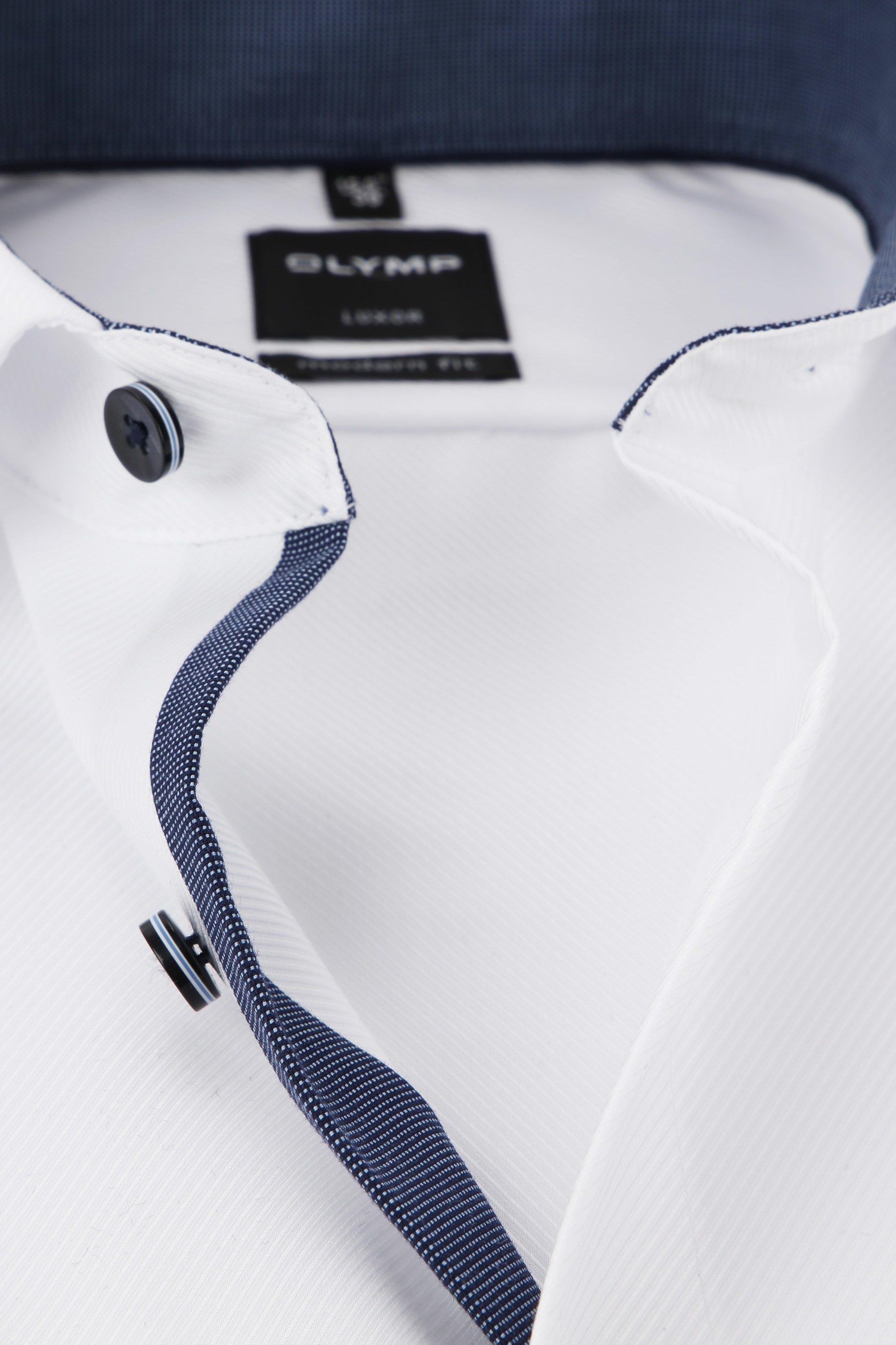 OLYMP Luxor MF Overhemd Wit foto 1