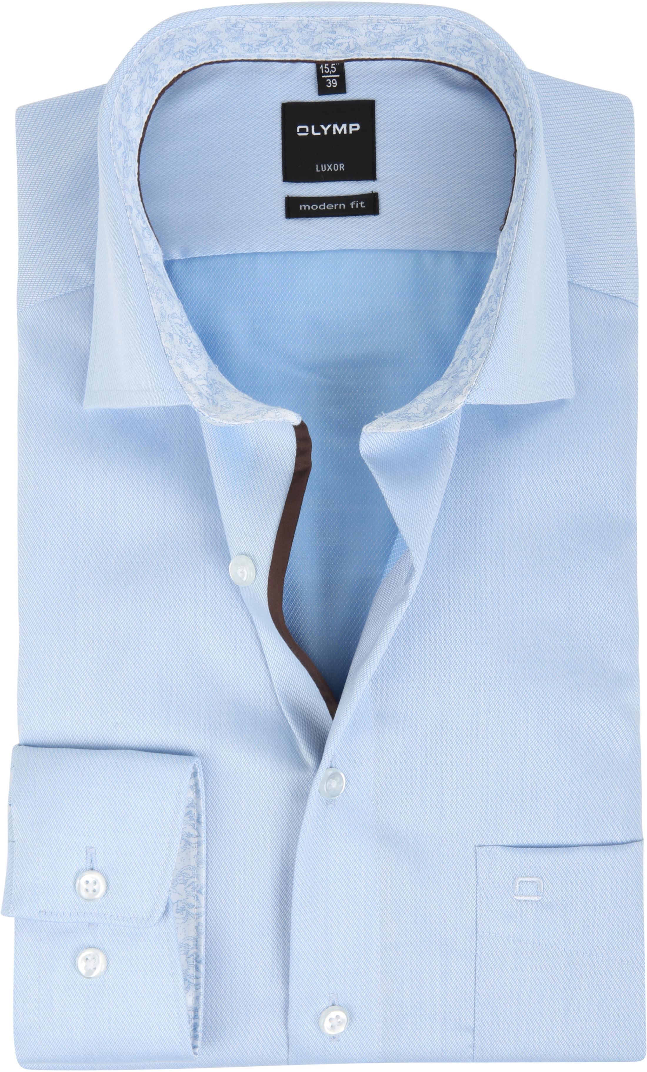 olymp luxor modern fit light blue 124824 order online. Black Bedroom Furniture Sets. Home Design Ideas