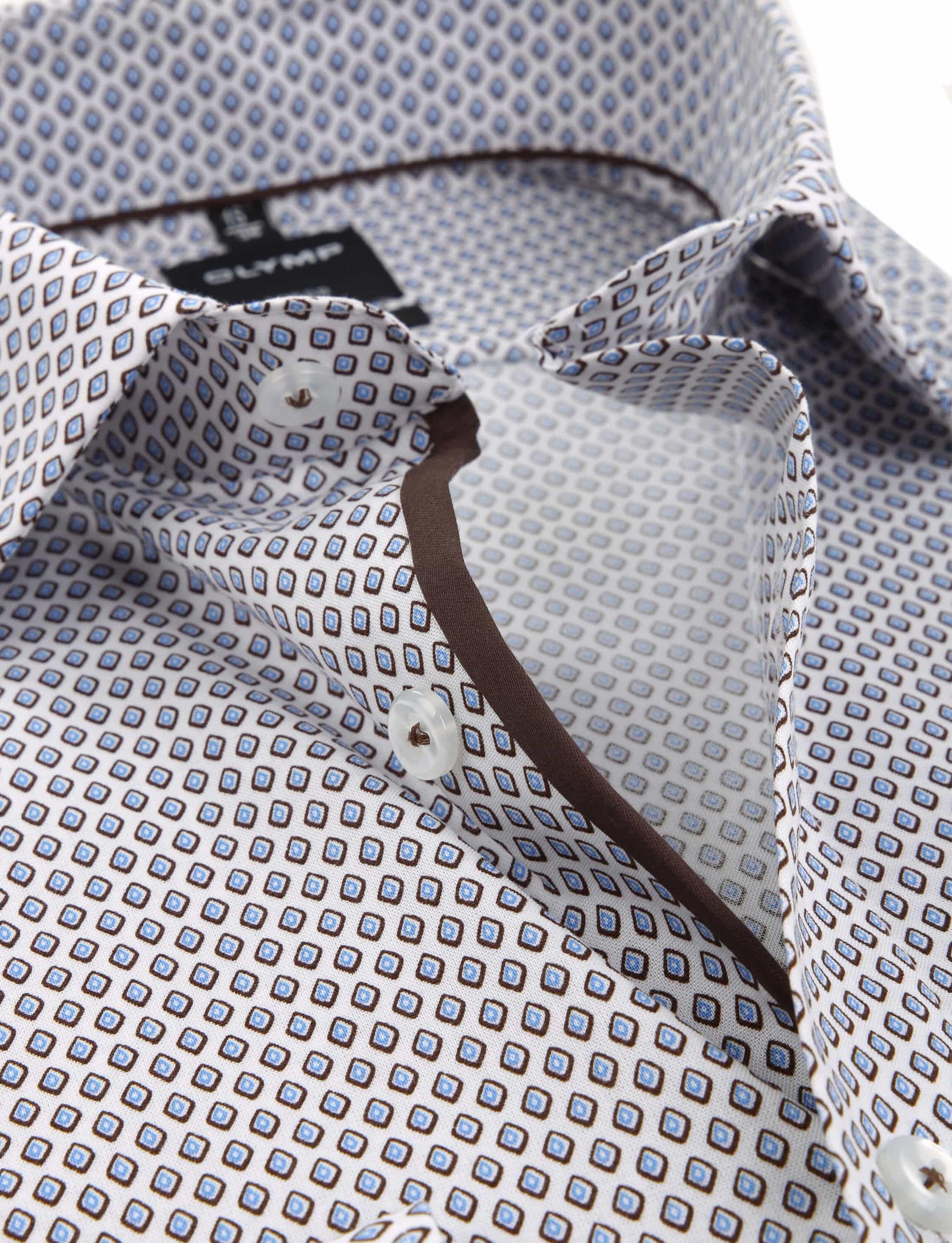 OLYMP Luxor Modern Fit Overhemd Patroon foto 1