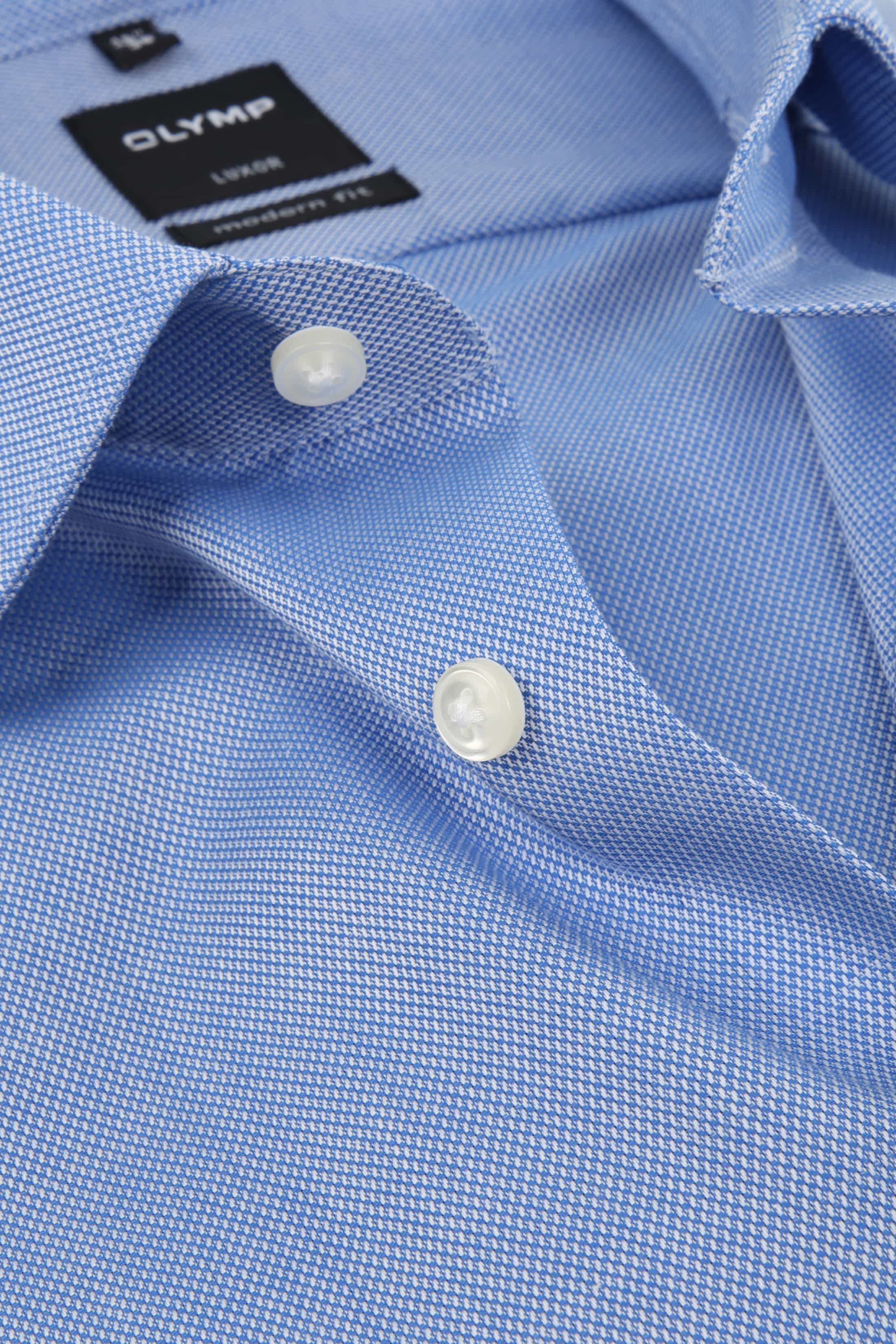 Olymp Luxor Non Iron Shirt Modern Fit Blue foto 1