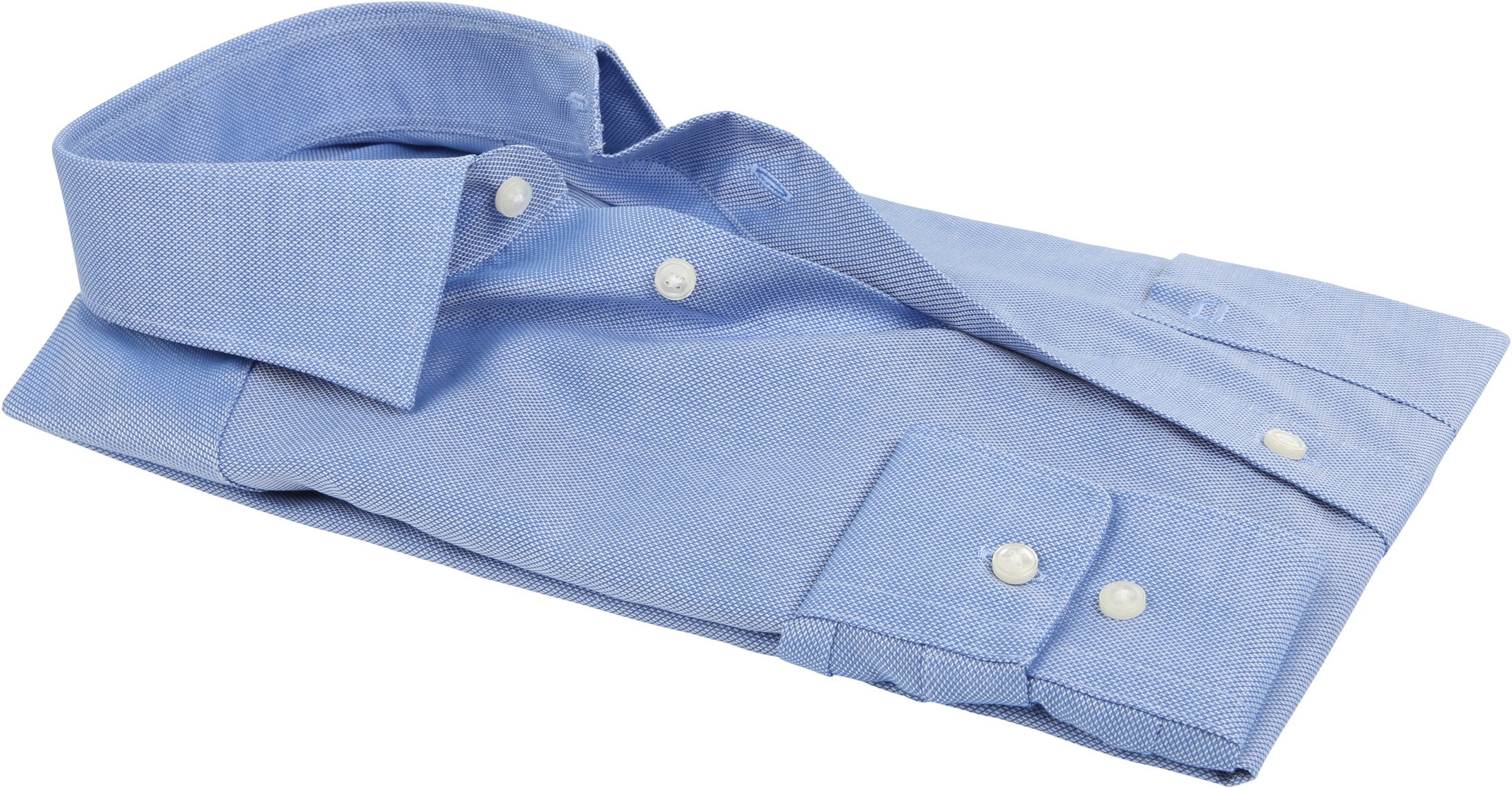 Olymp Luxor Non Iron Shirt Modern Fit Blue foto 3