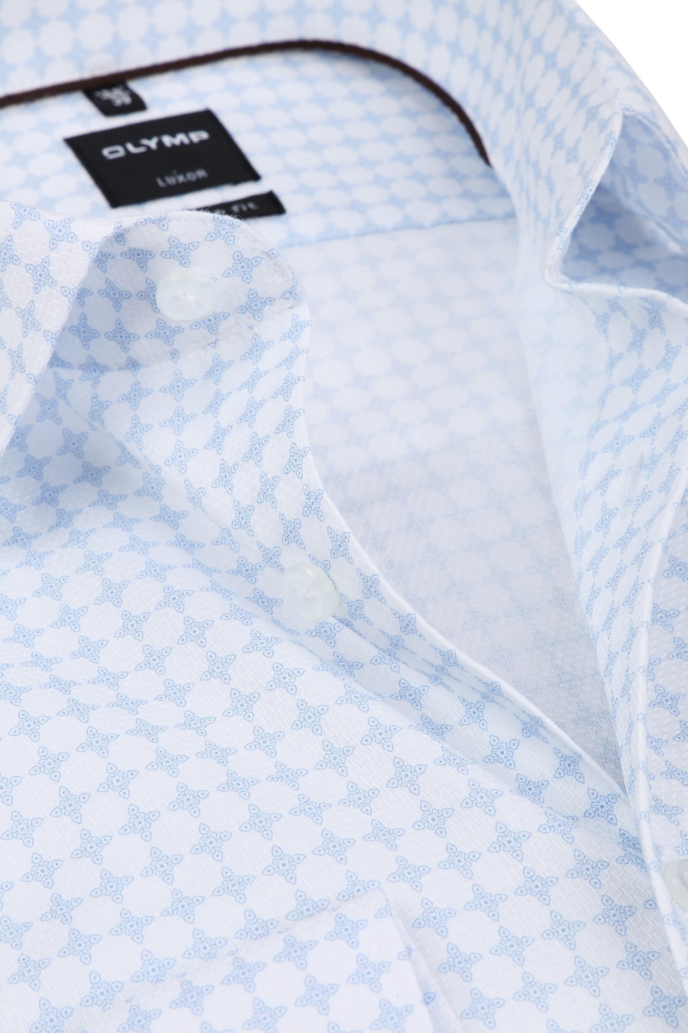 OLYMP Luxor Overhemd MF Lichtblauw SL7 foto 1