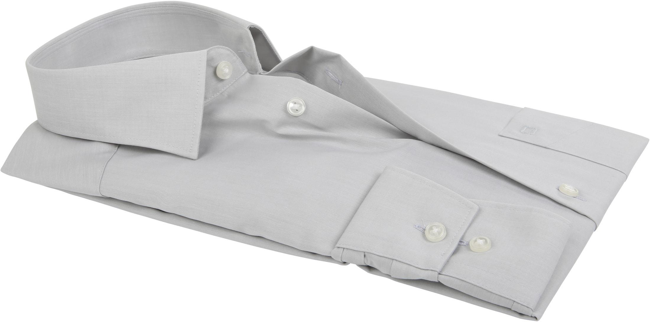 OLYMP Luxor Overhemd Modern Fit Grijs