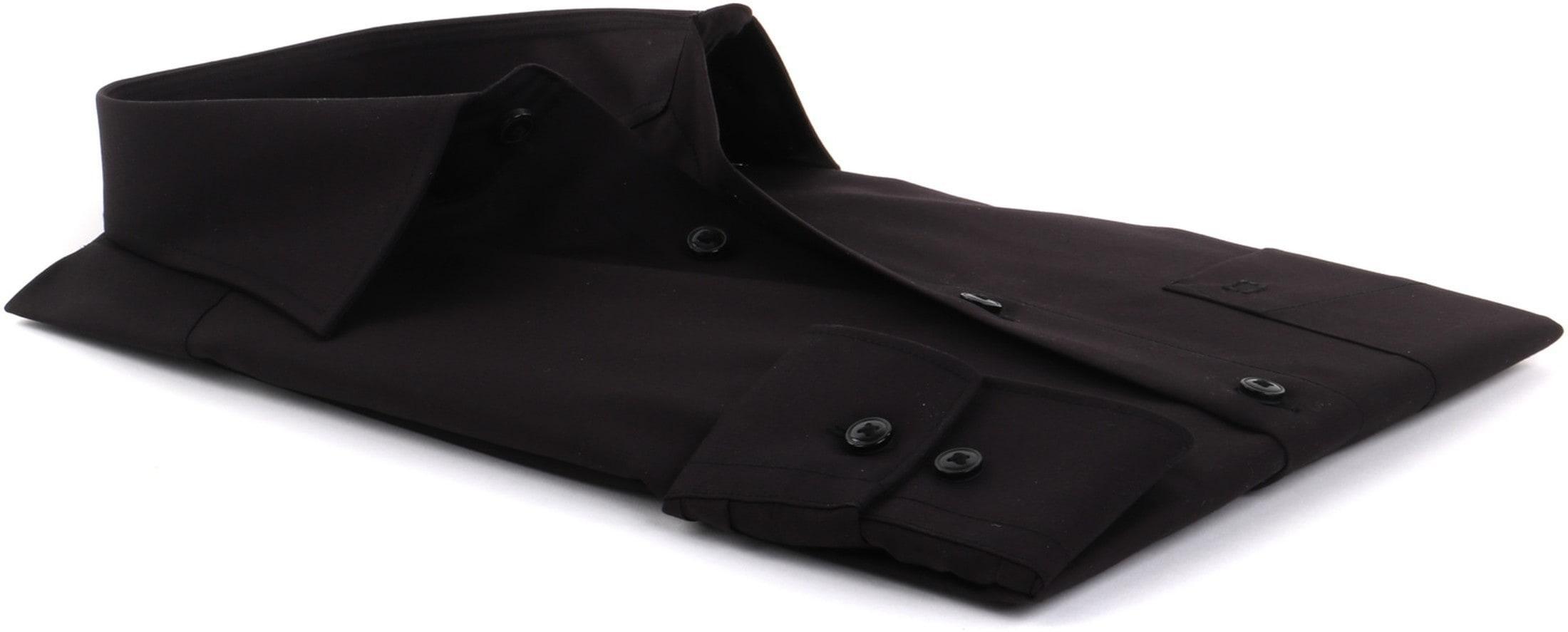 olymp luxor overhemd zwart modern fit 030064. Black Bedroom Furniture Sets. Home Design Ideas