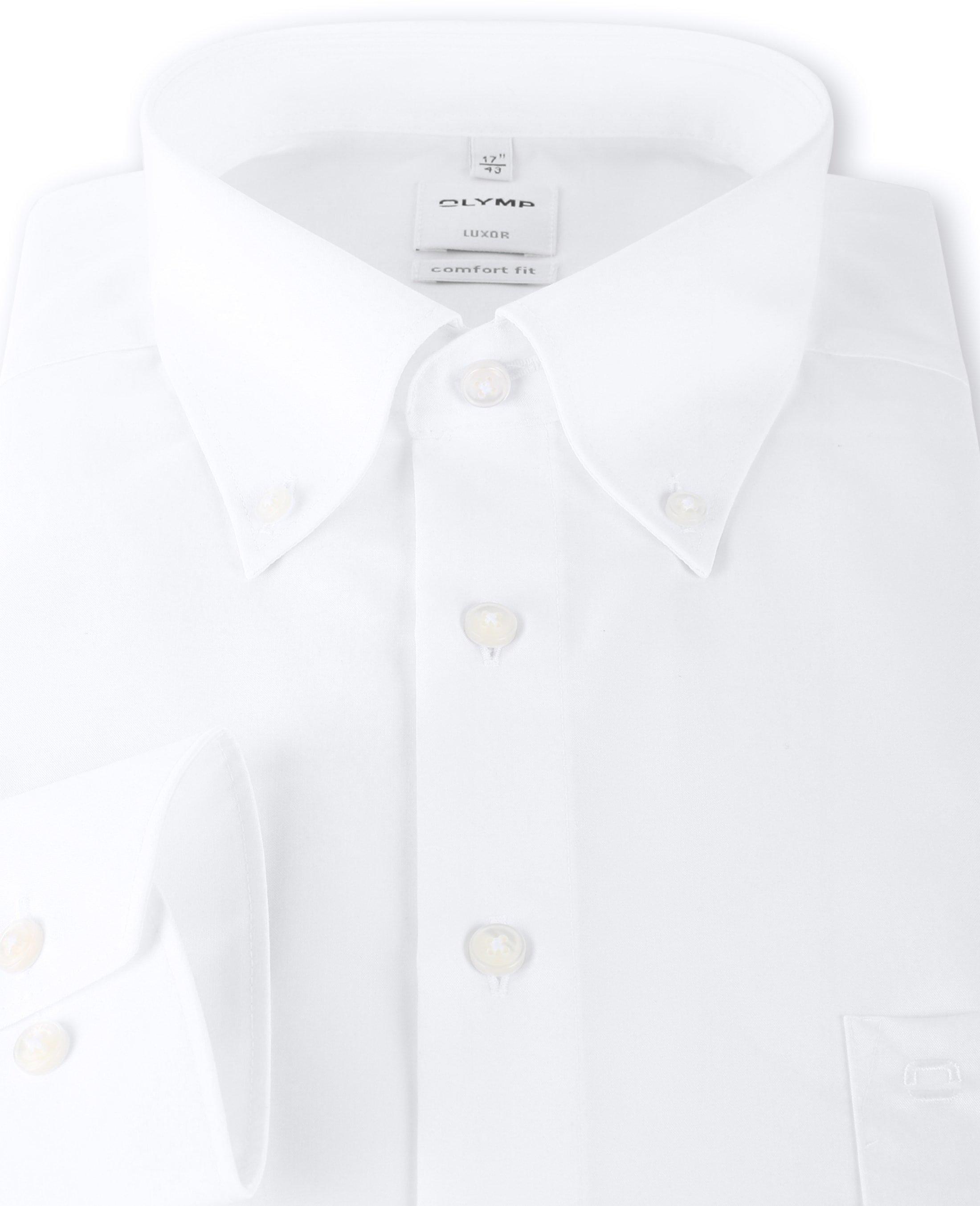 OLYMP Luxor Shirt Comfort Fit Wit foto 2