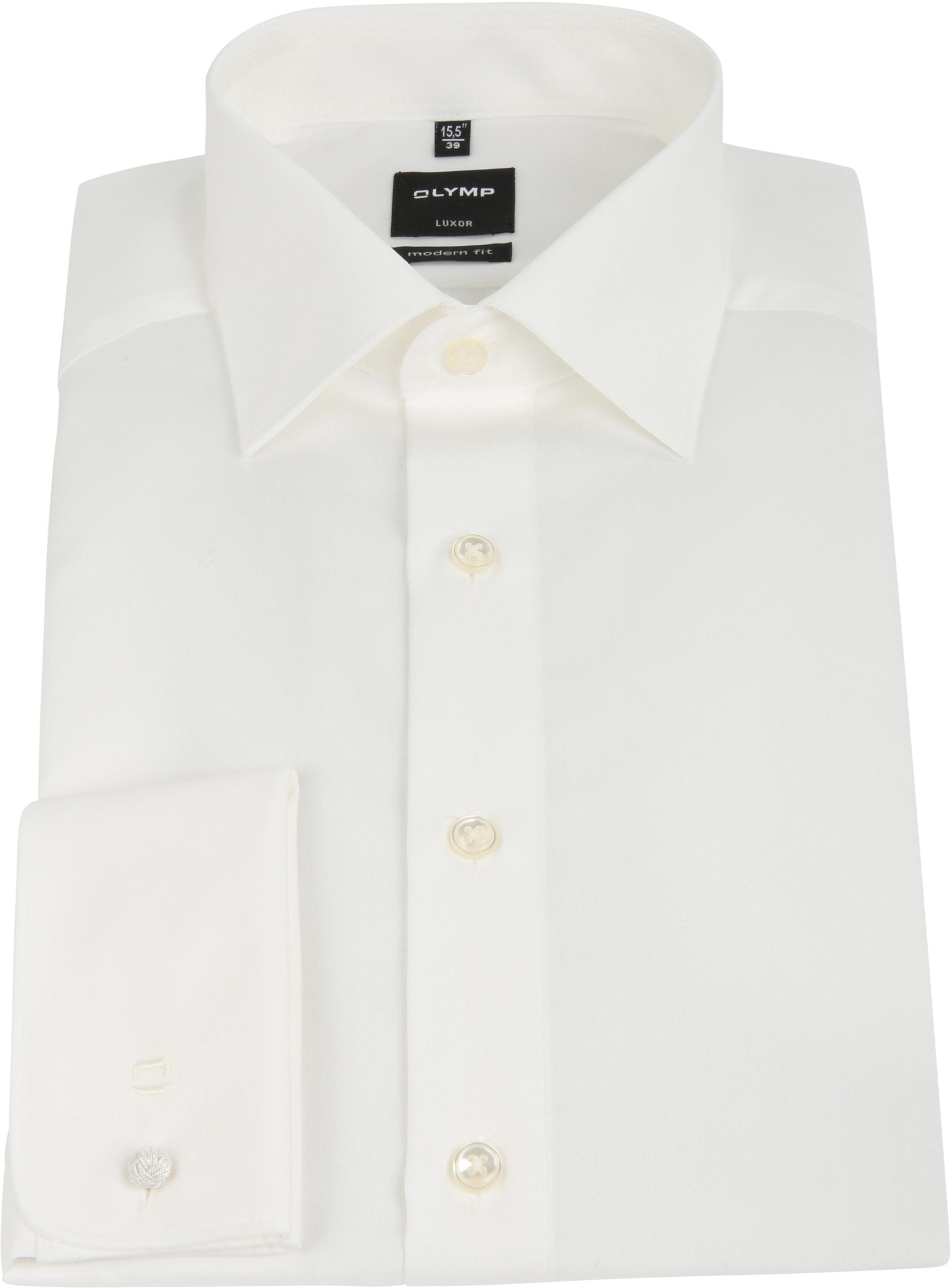 Olymp Luxor Shirt Double Cuff Ecru