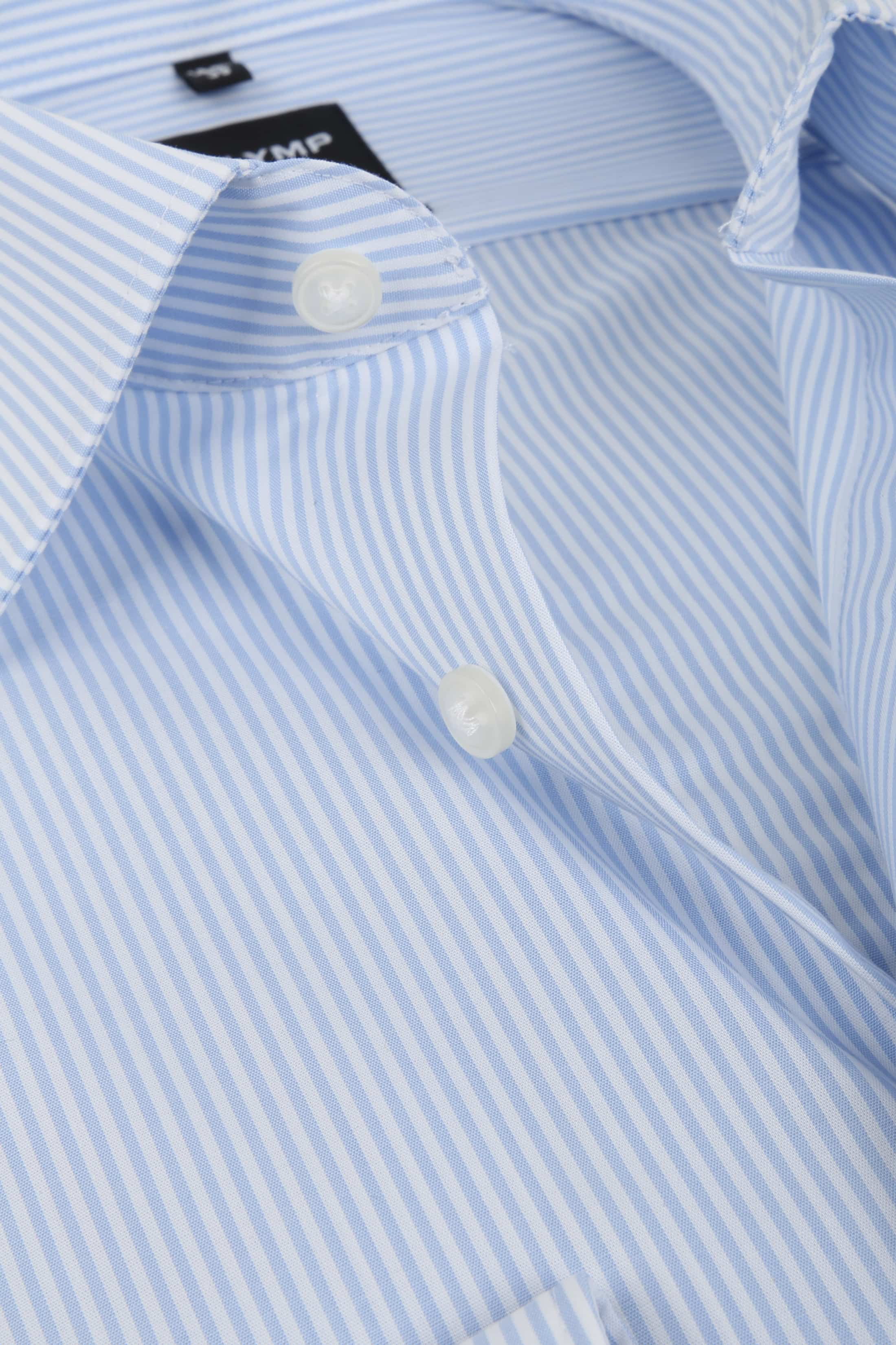 Olymp Luxor Shirt Light Blue Striped foto 1