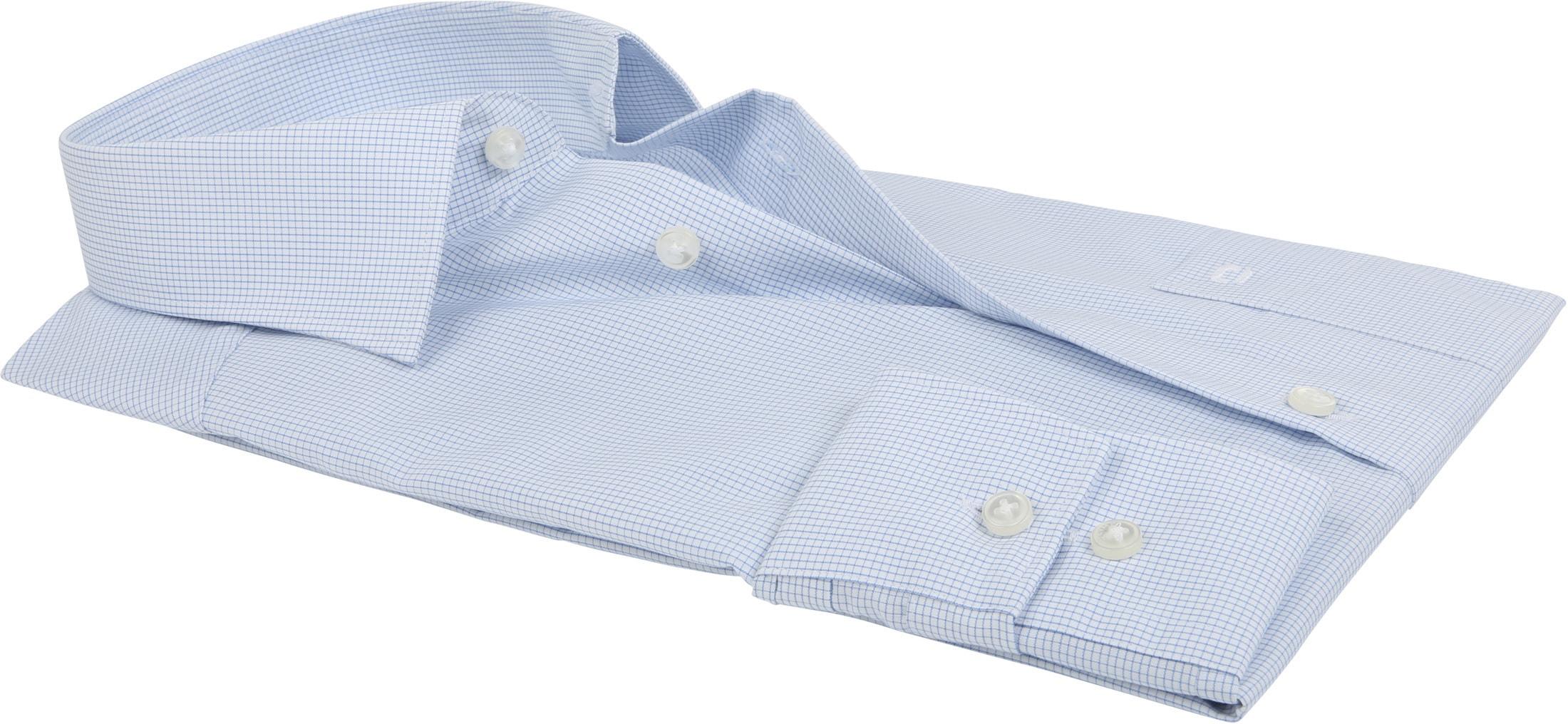 Olymp Luxor Shirt MF Blue Checks
