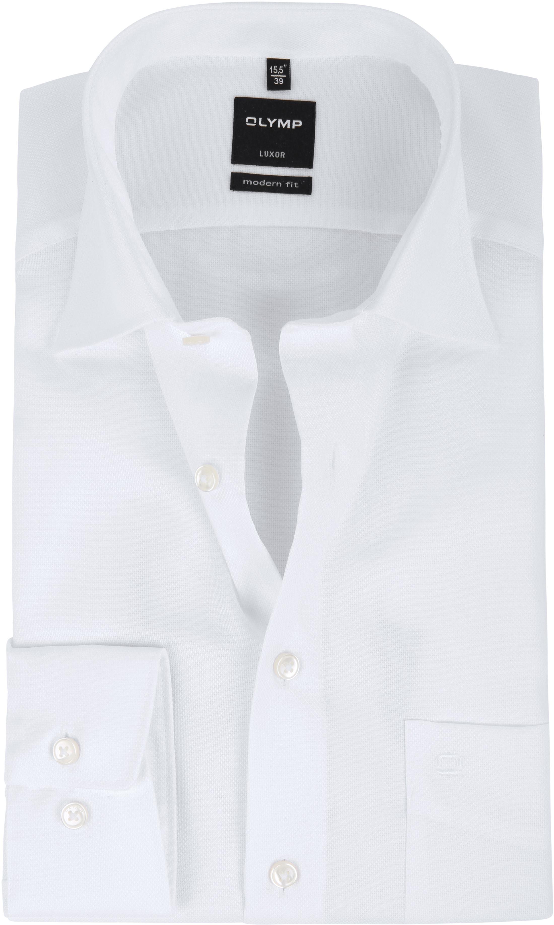 Olymp Luxor Shirt Modern Fit White foto 0