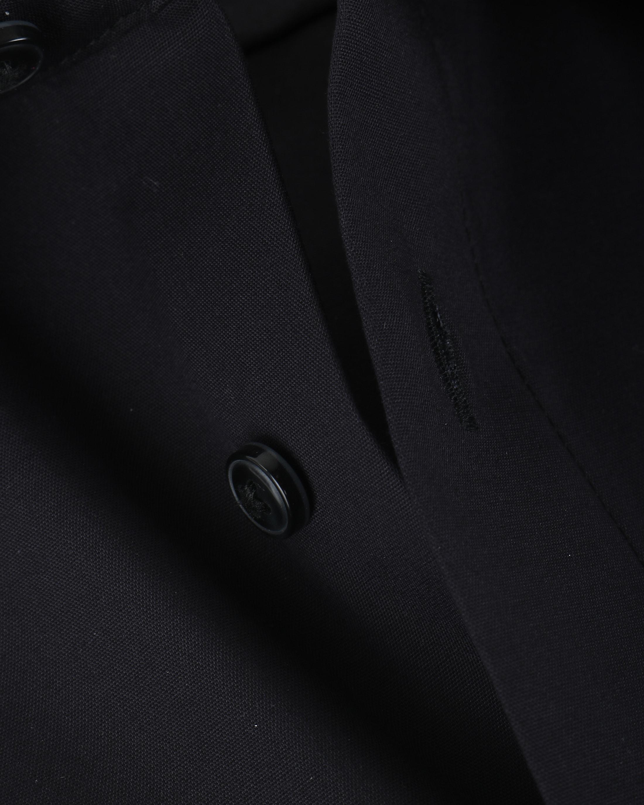 OLYMP Luxor Shirt Zwart Comfort Fit foto 2