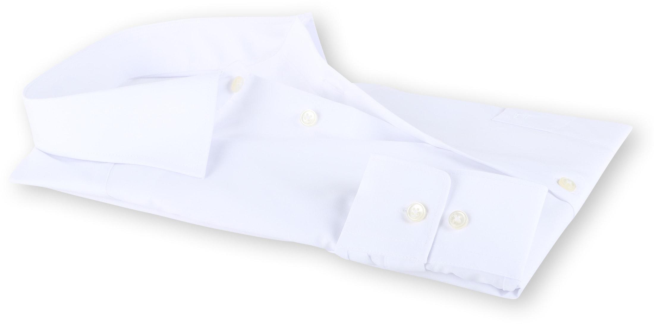 OLYMP Luxor Strijkvrij Shirt Comfort Fit Wit foto 3
