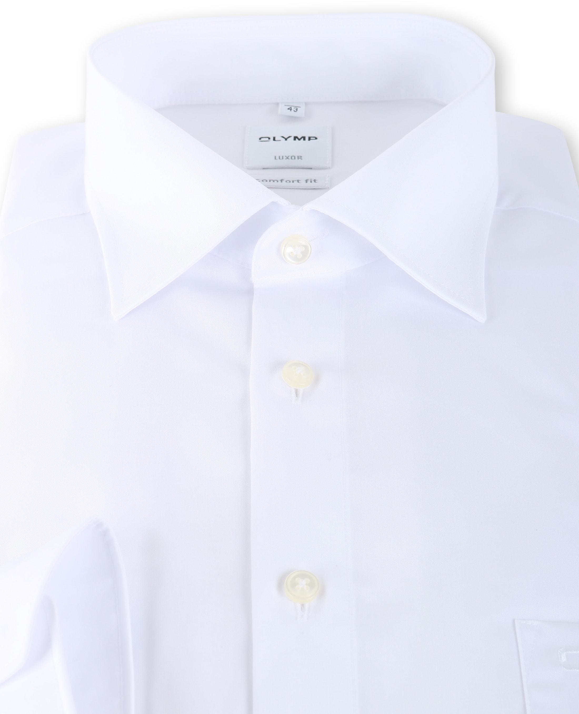 OLYMP Luxor Strijkvrij Shirt Comfort Fit Wit foto 2