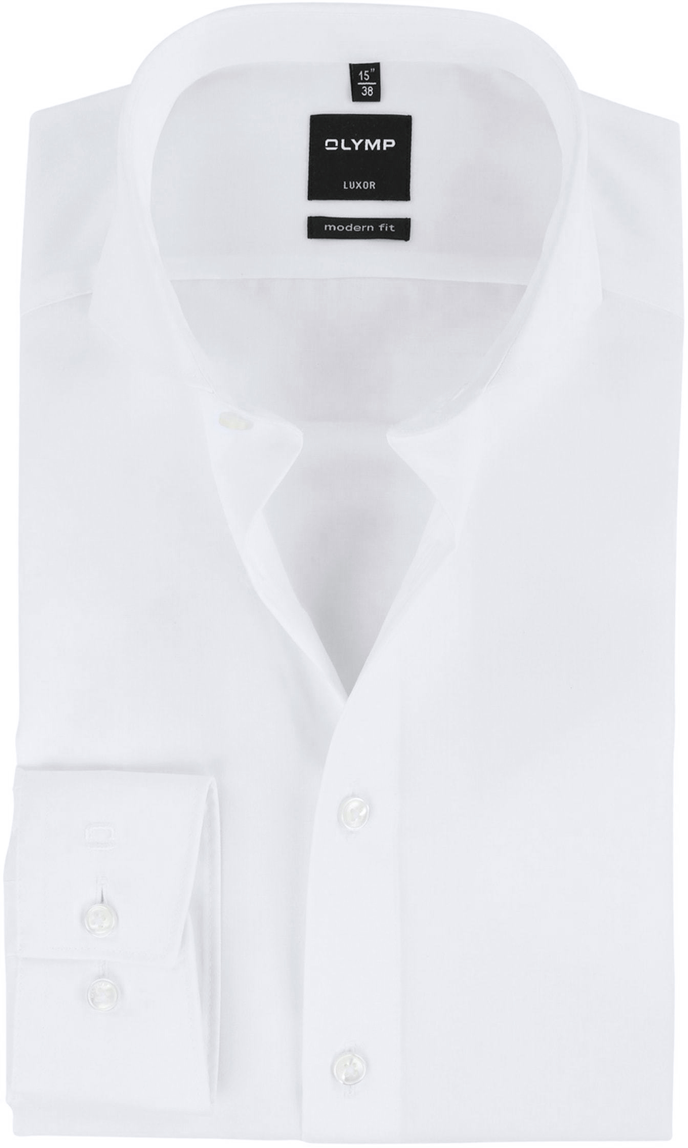 ever popular more photos new product Olymp Luxor Wit Shirt Non Iron 035064 order online | Suitable