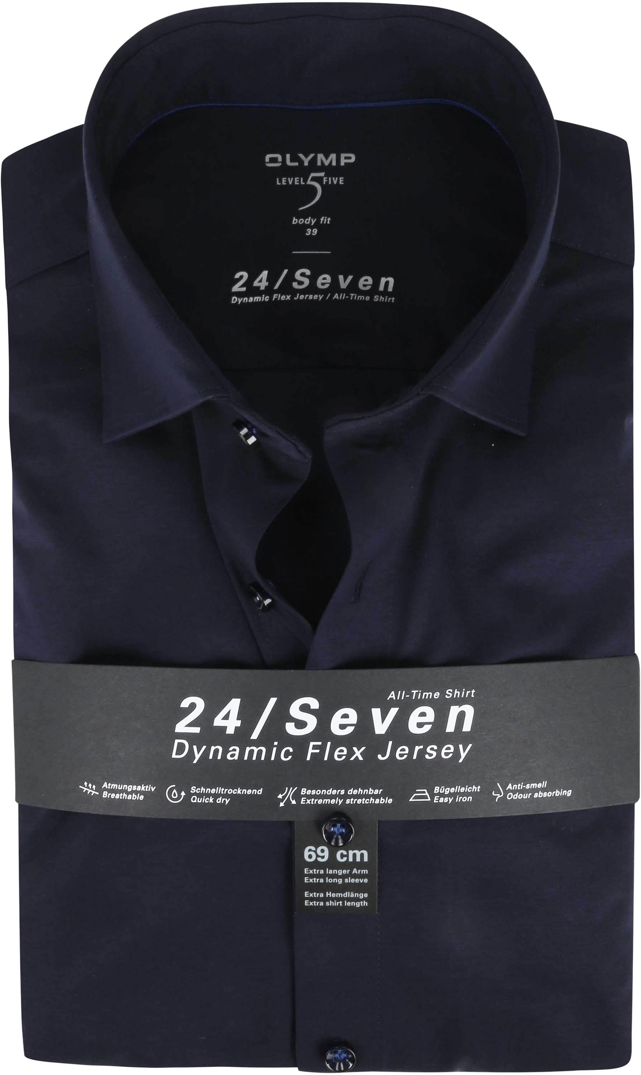 OLYMP Lvl 5 Extra LS Hemd 24/Seven Dunkelblau