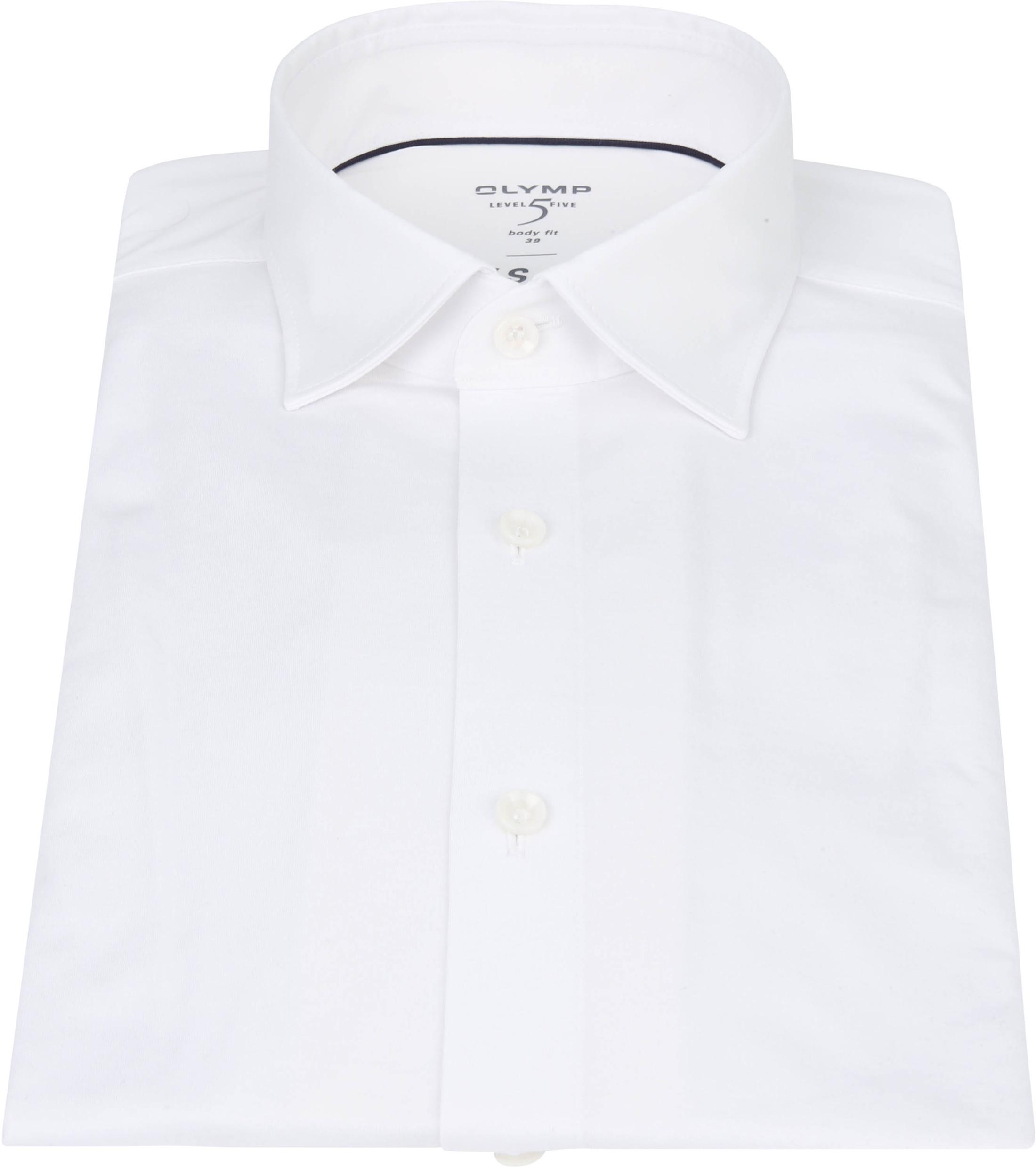 OLYMP Lvl 5 Overhemd 24/Seven Wit