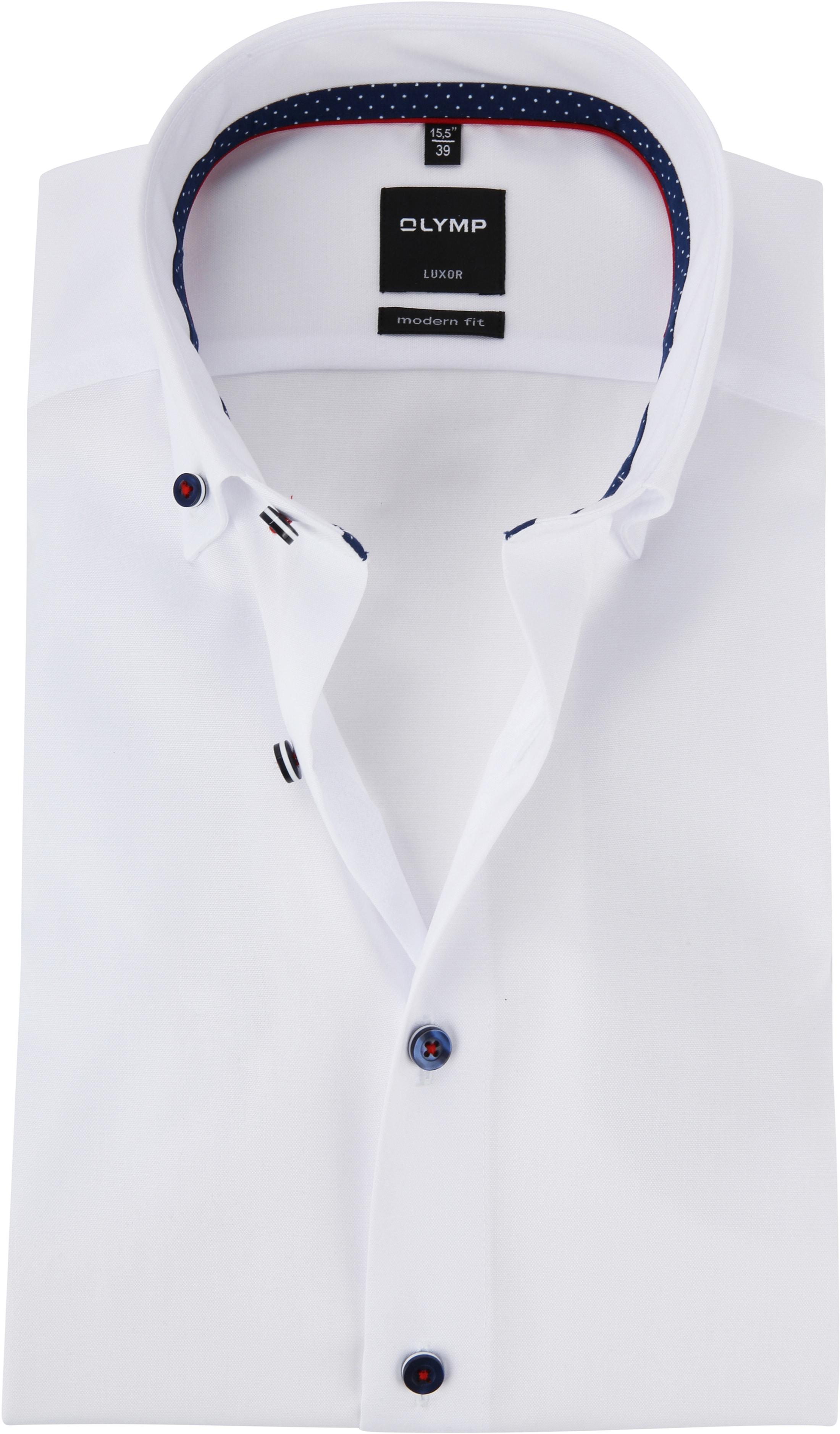 OLYMP MF Luxor Shirt White foto 0