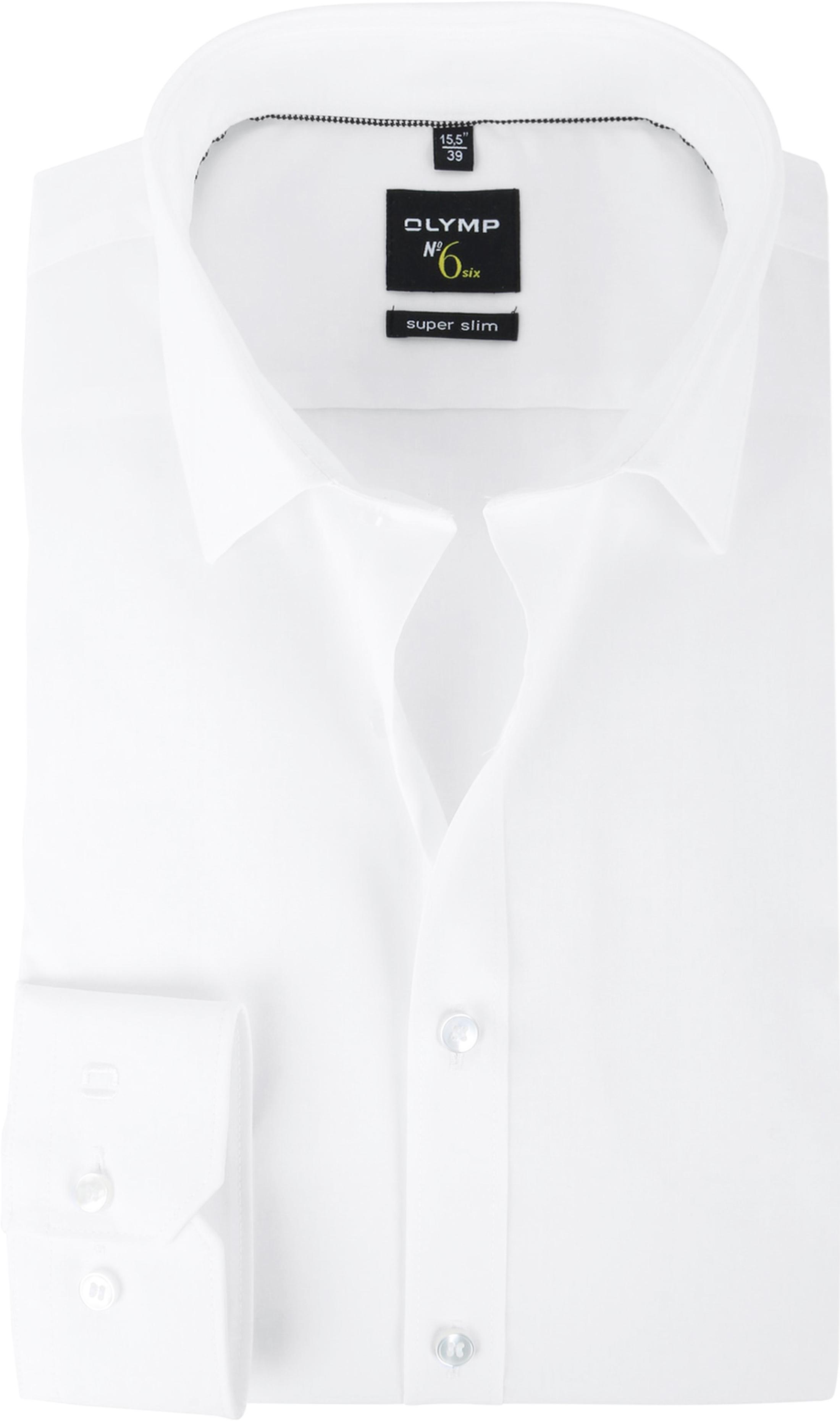 Overhemd Wit Slim Fit.Olymp No 6 Six Skinny Fit Overhemd Wit 046664 Online Bestellen