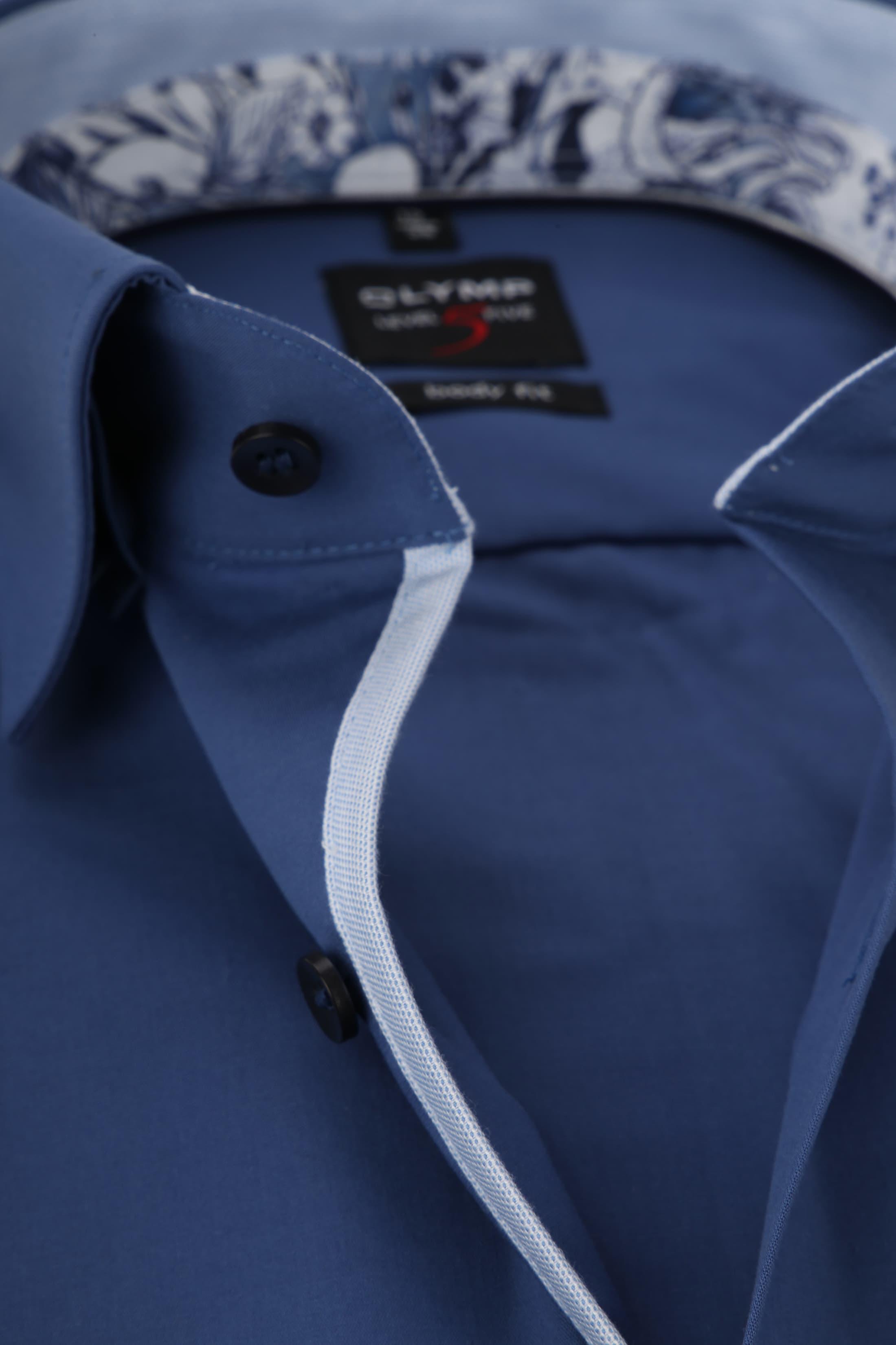 OLYMP Overhemd BF Level 5 Blauw foto 1