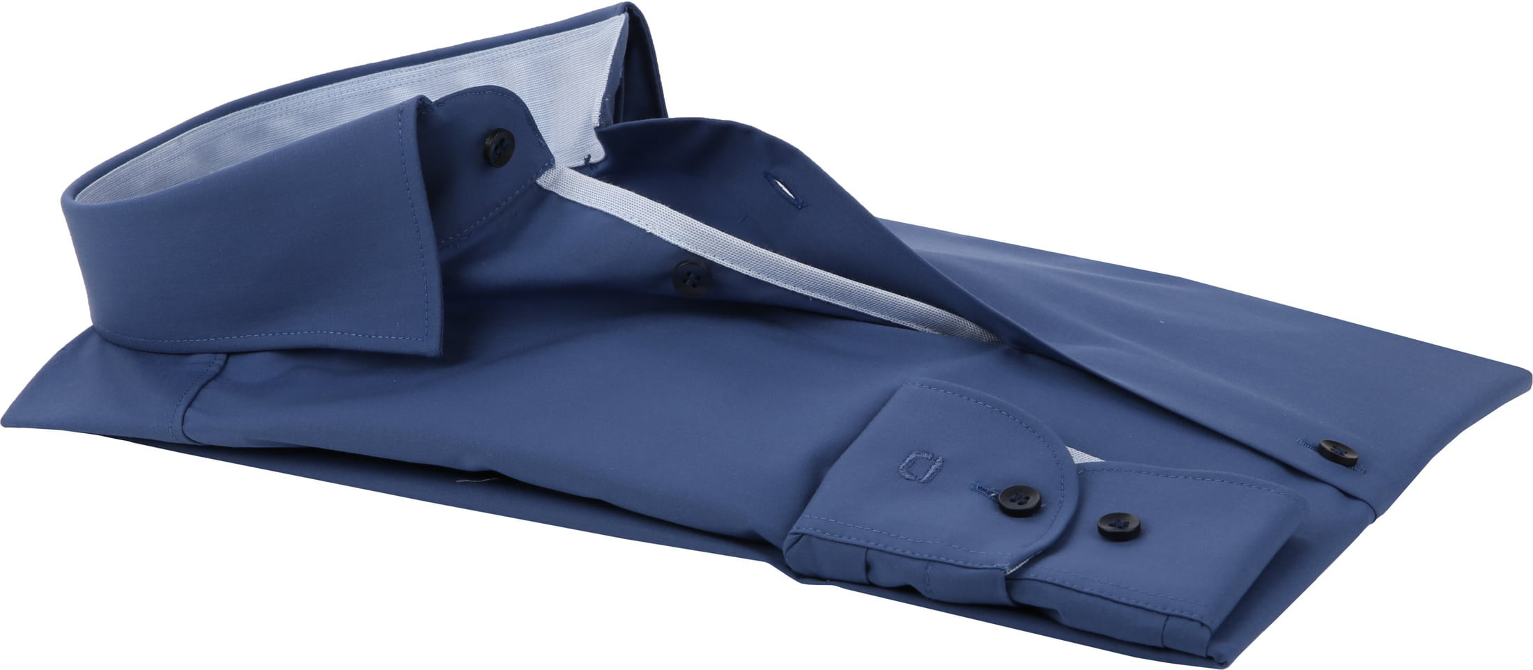 OLYMP Overhemd BF Level 5 Blauw foto 3