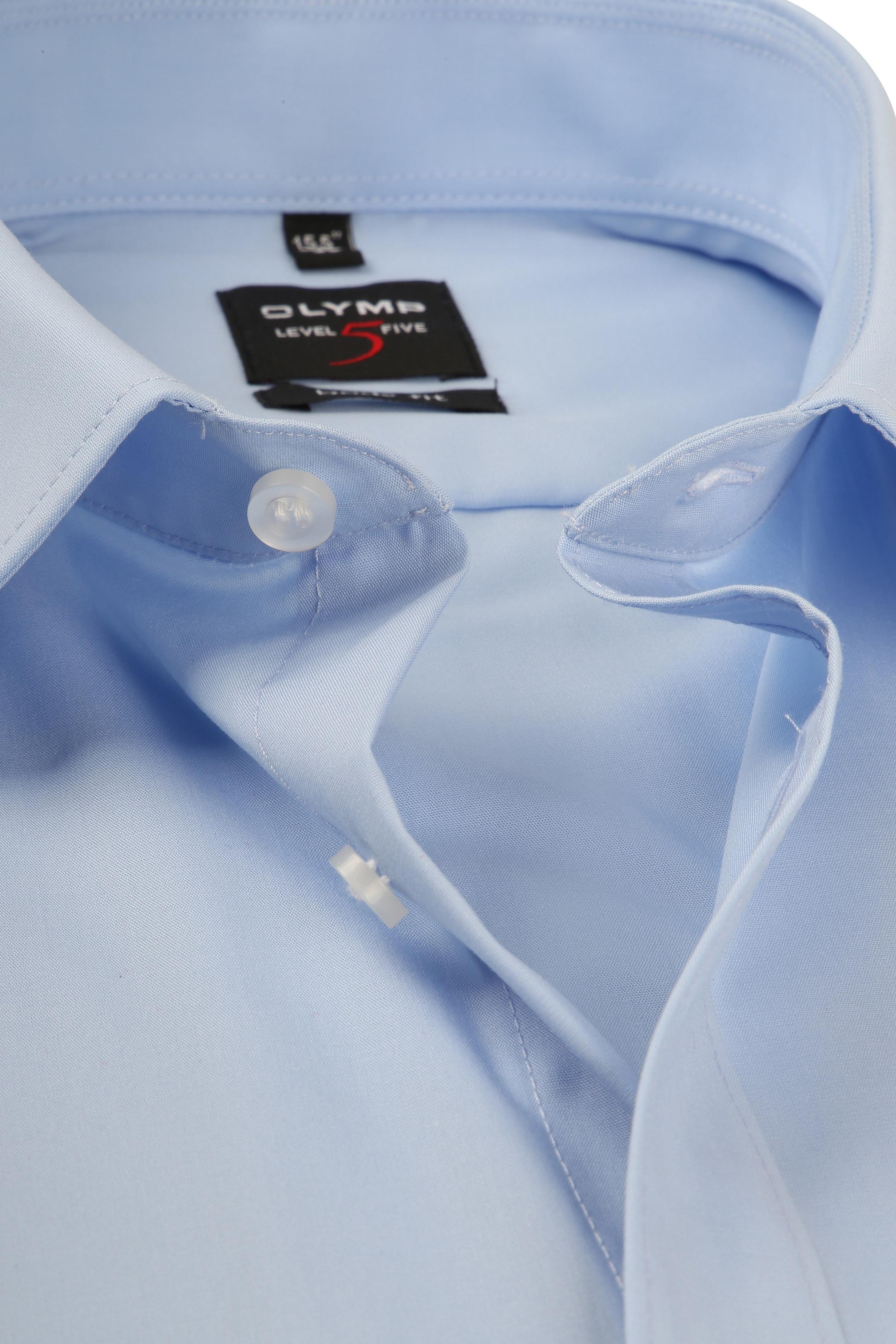 OLYMP Overhemd Blauw Body Fit foto 1