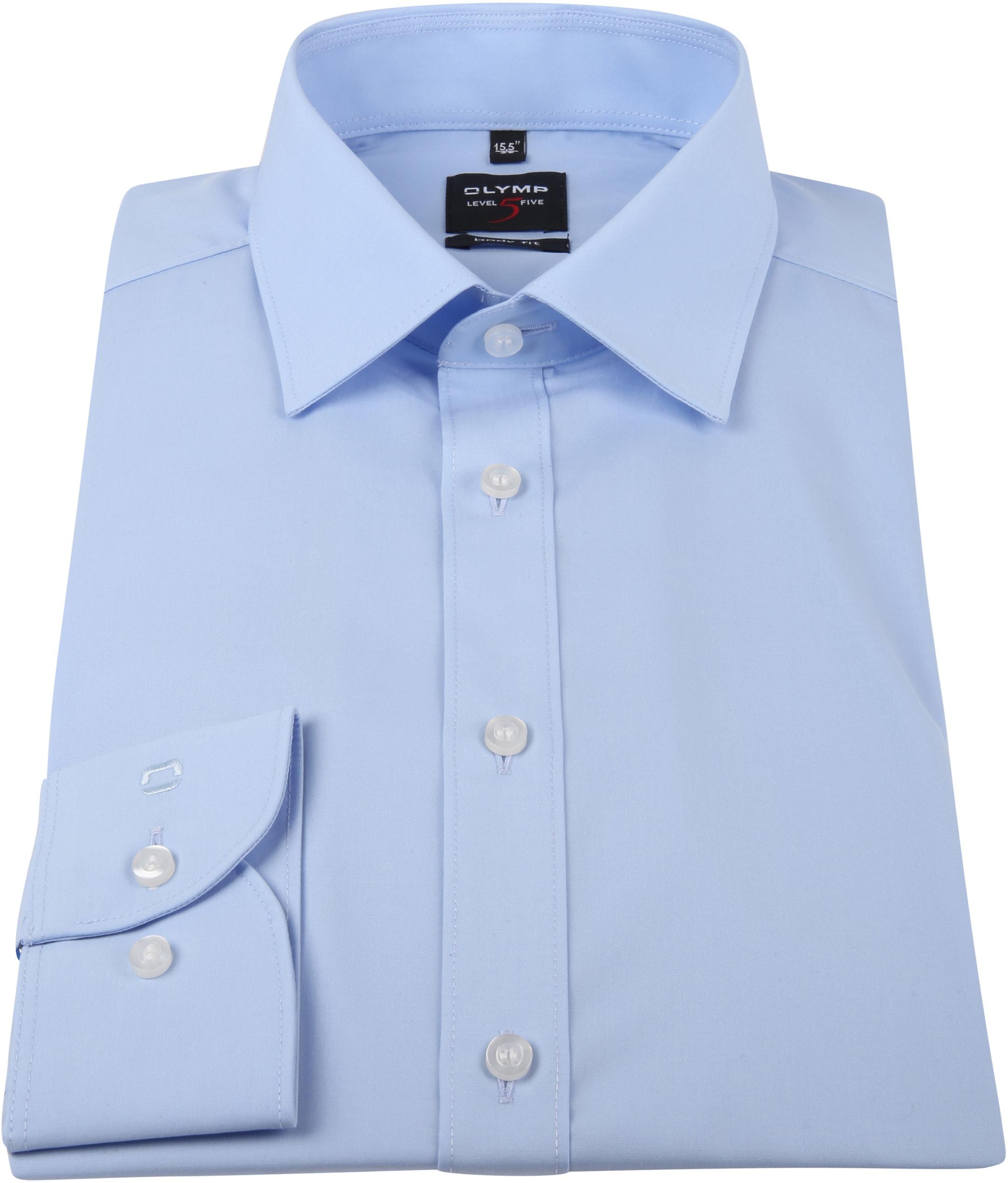 OLYMP Overhemd Blauw Body Fit foto 2