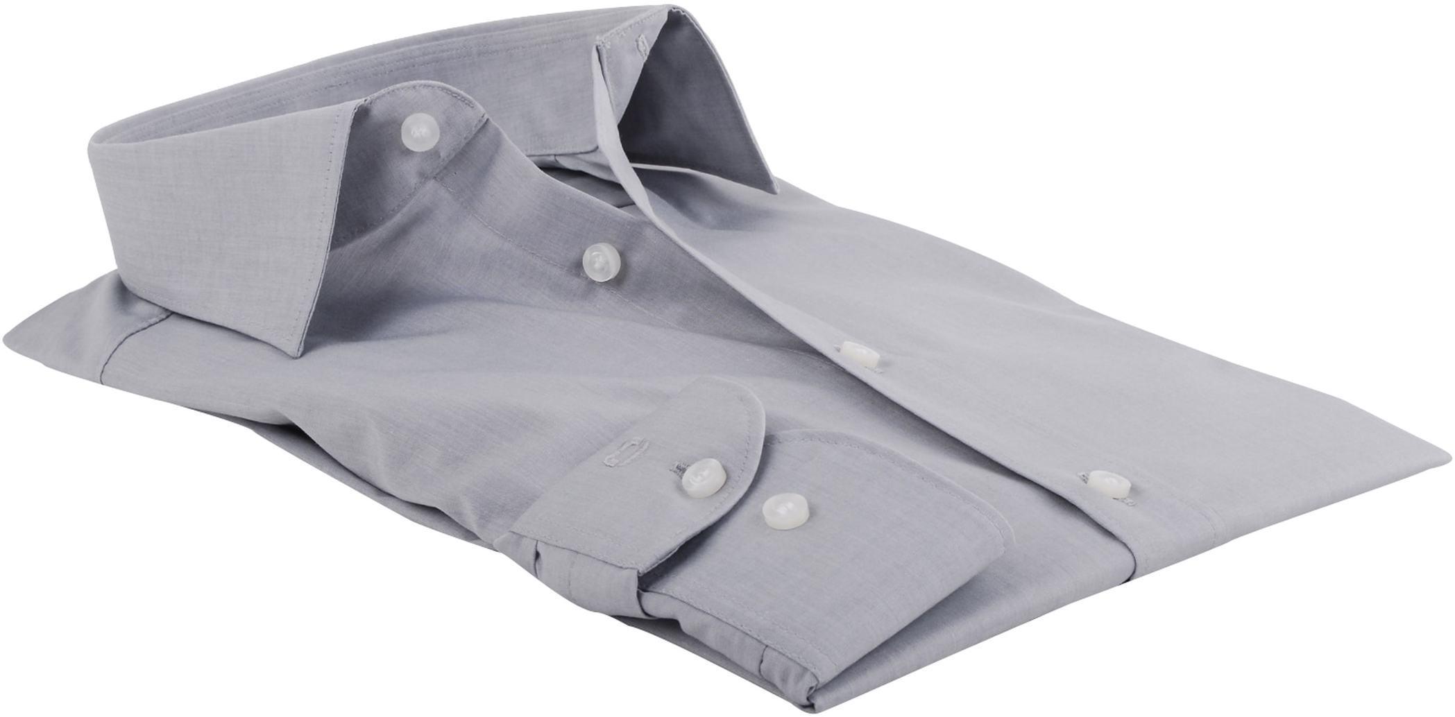 OLYMP Overhemd Body-Fit Grijs foto 1
