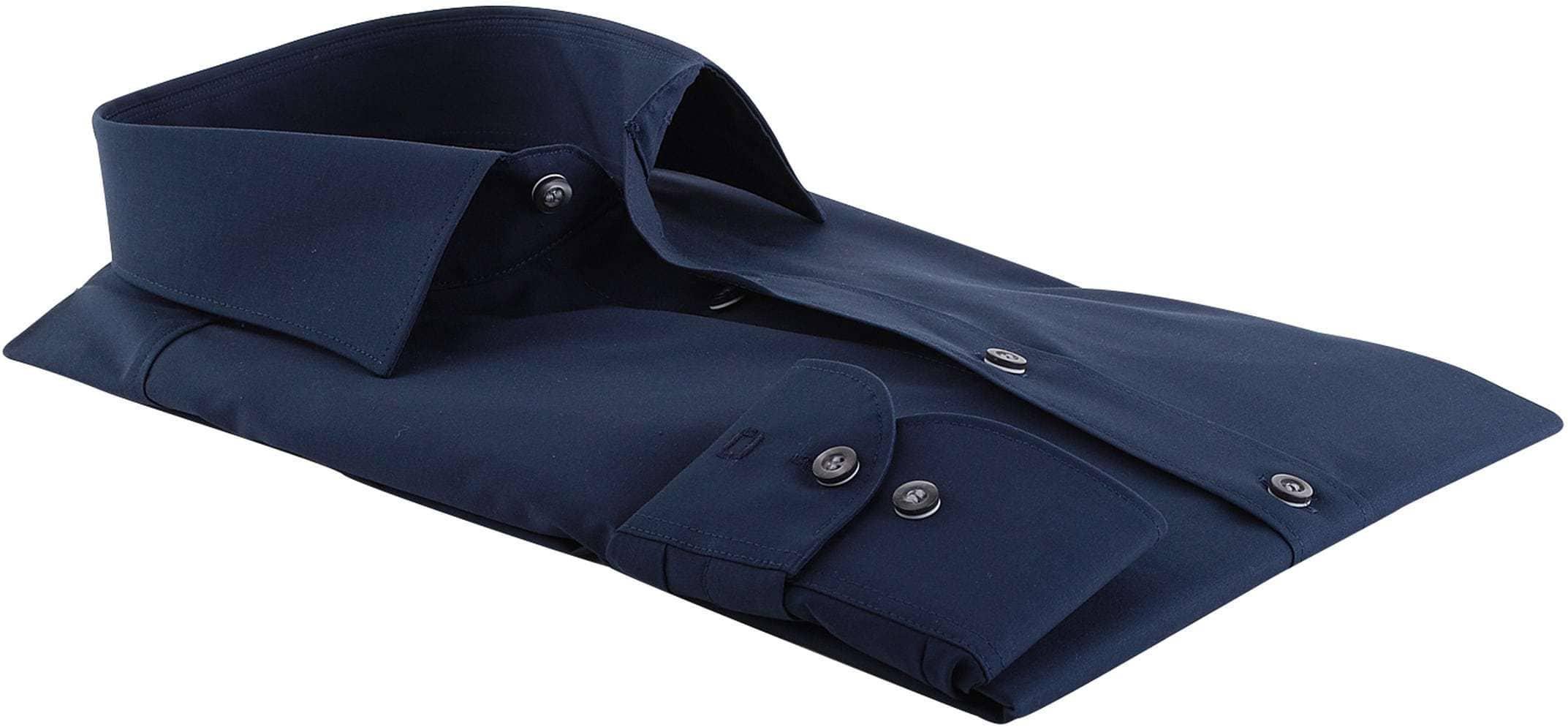Olymp Overhemd Body Fit Navy foto 1