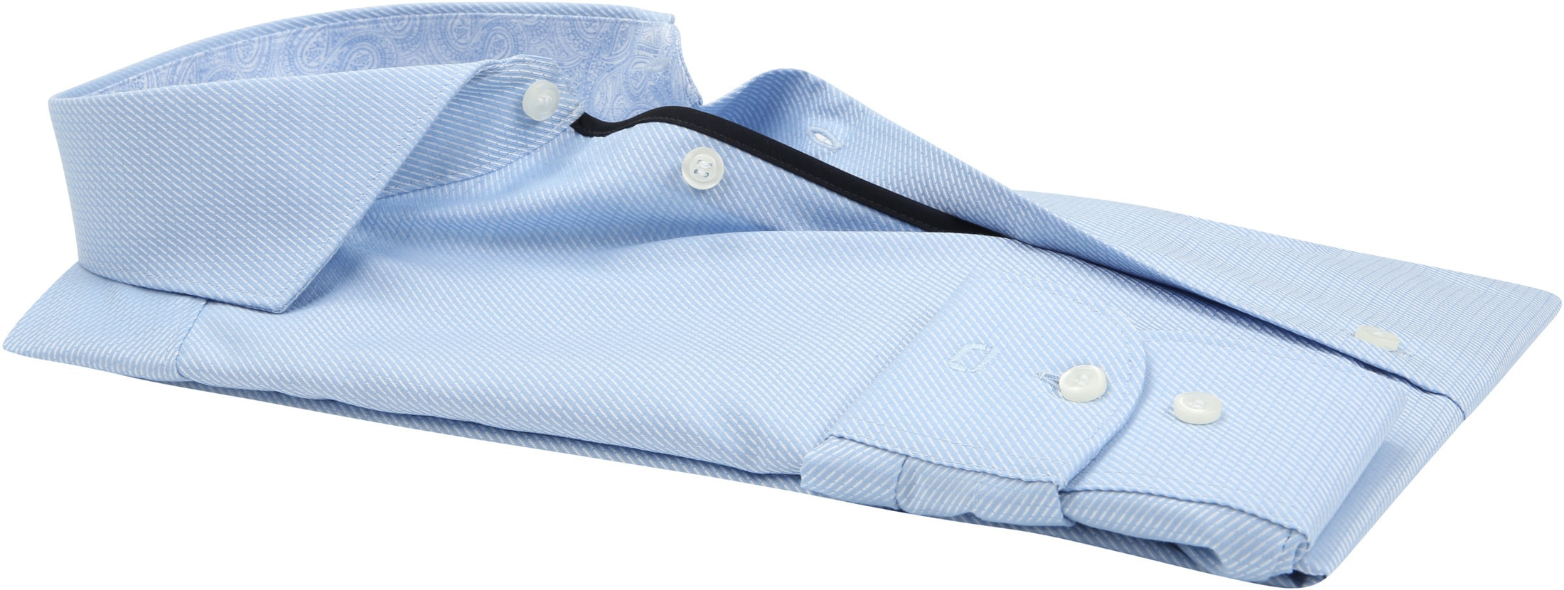 OLYMP Overhemd Level 5 BF Light Blue foto 2