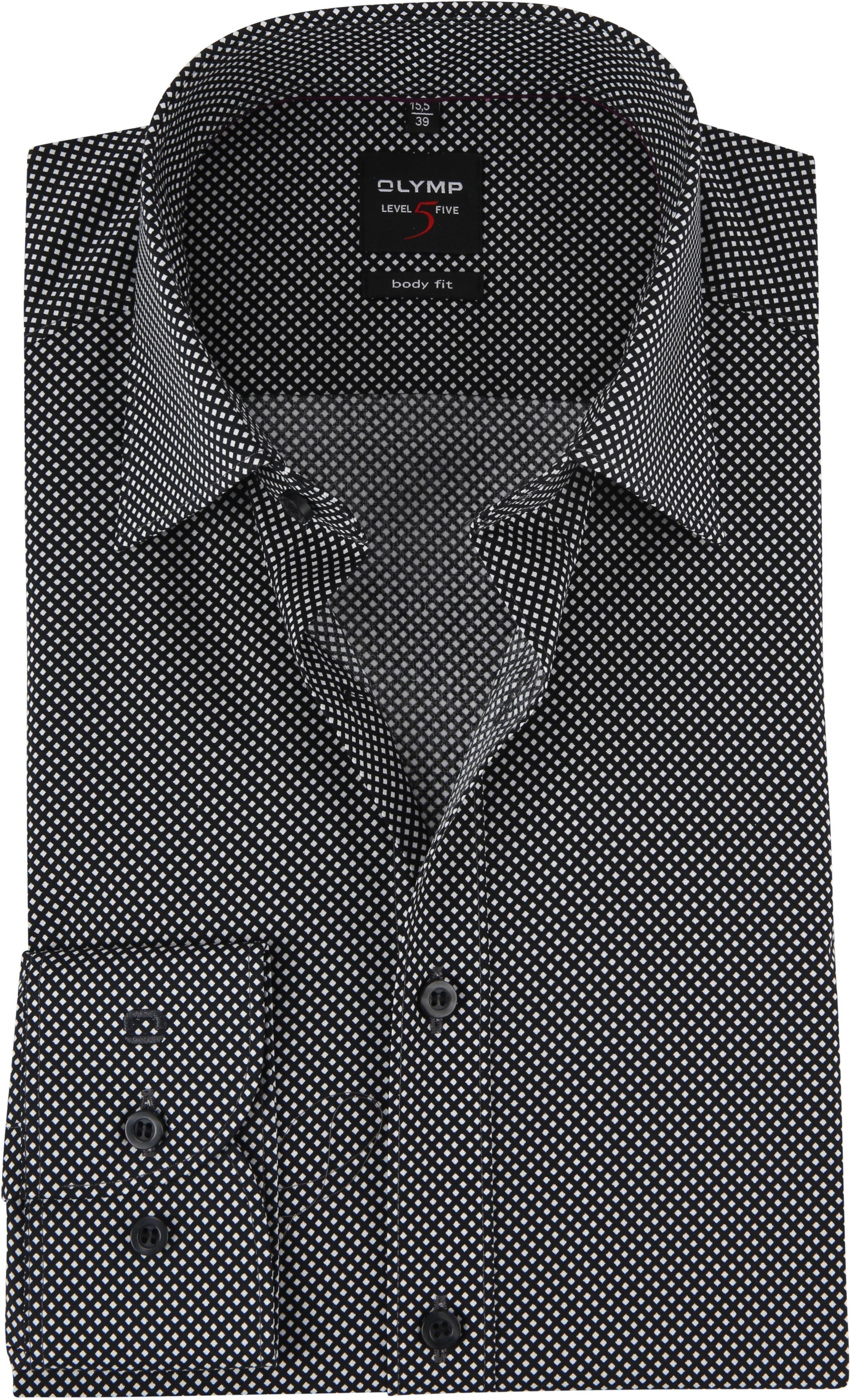 OLYMP Overhemd Level 5 BF Ruit foto 0