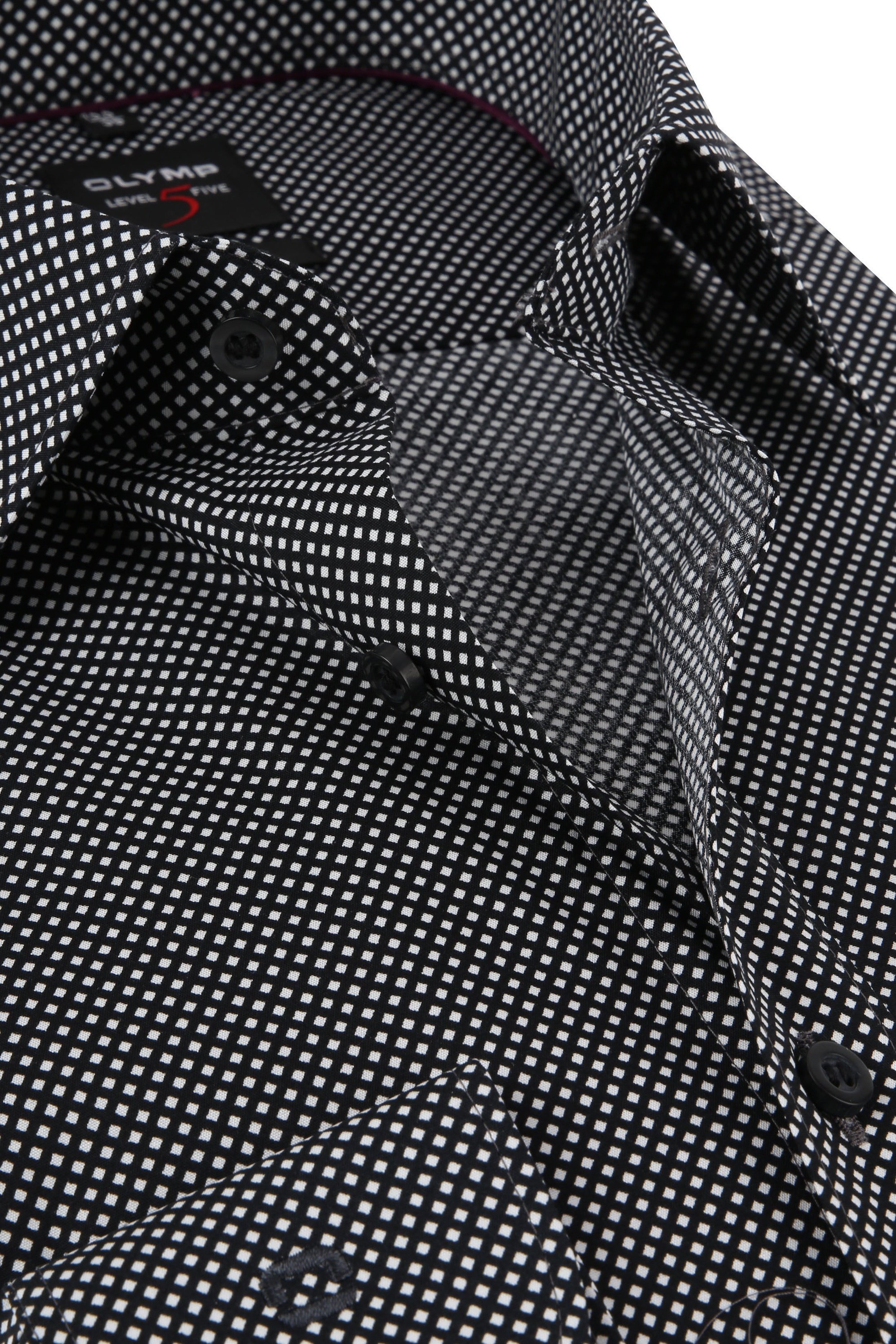 OLYMP Overhemd Level 5 BF Ruit foto 1