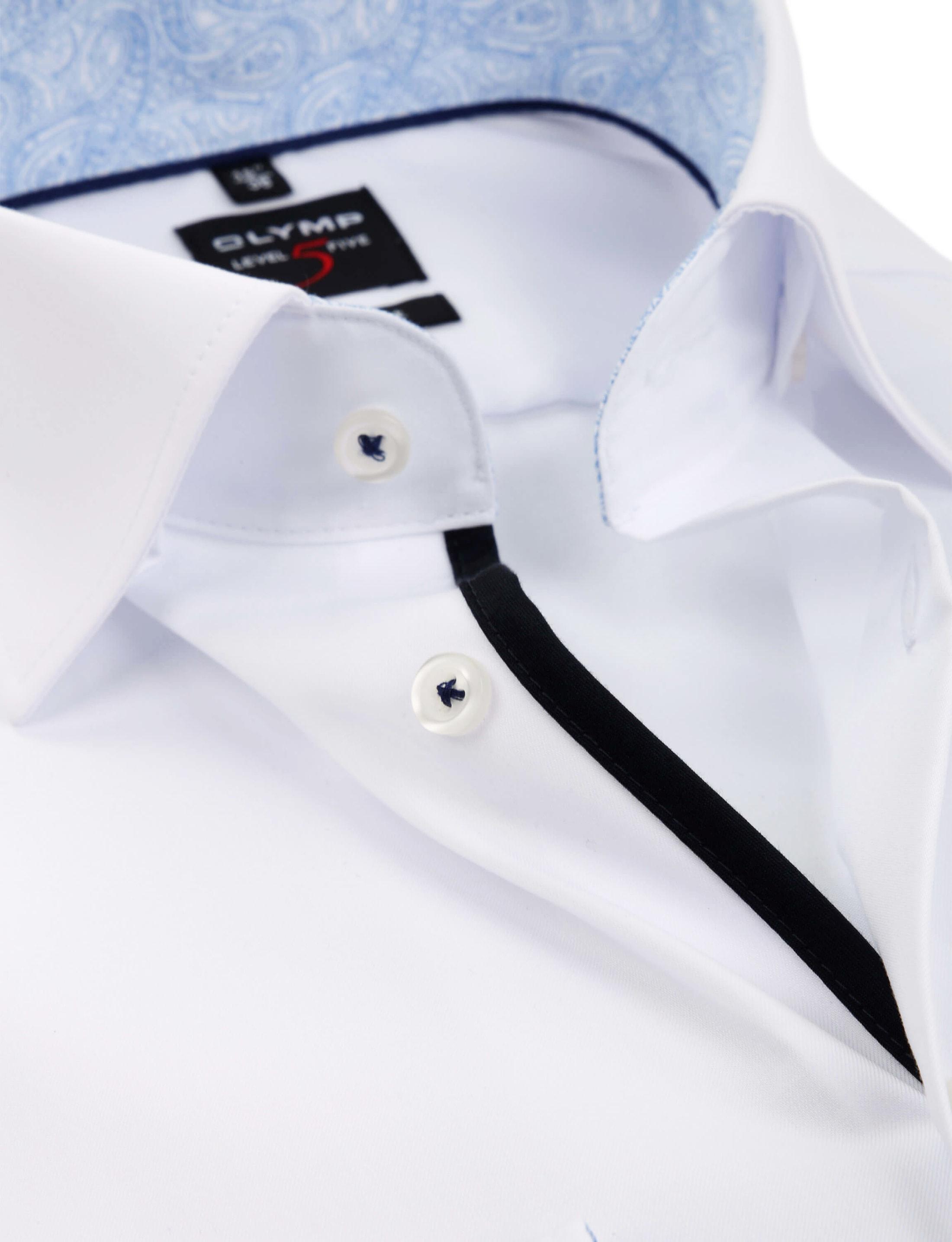 OLYMP Overhemd Level 5 BF Wit foto 1