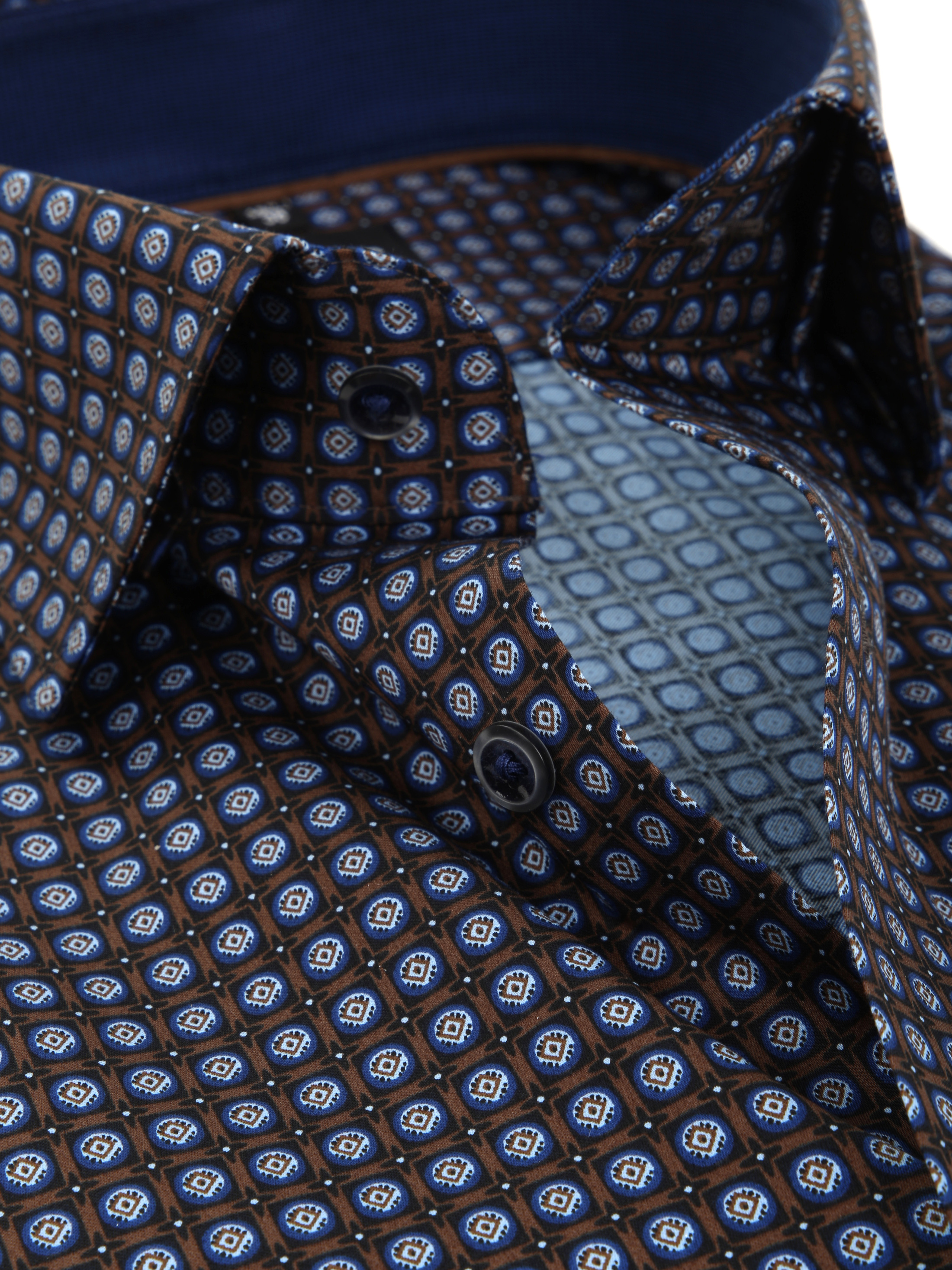 OLYMP Overhemd Luxor Modern-Fit Print foto 1