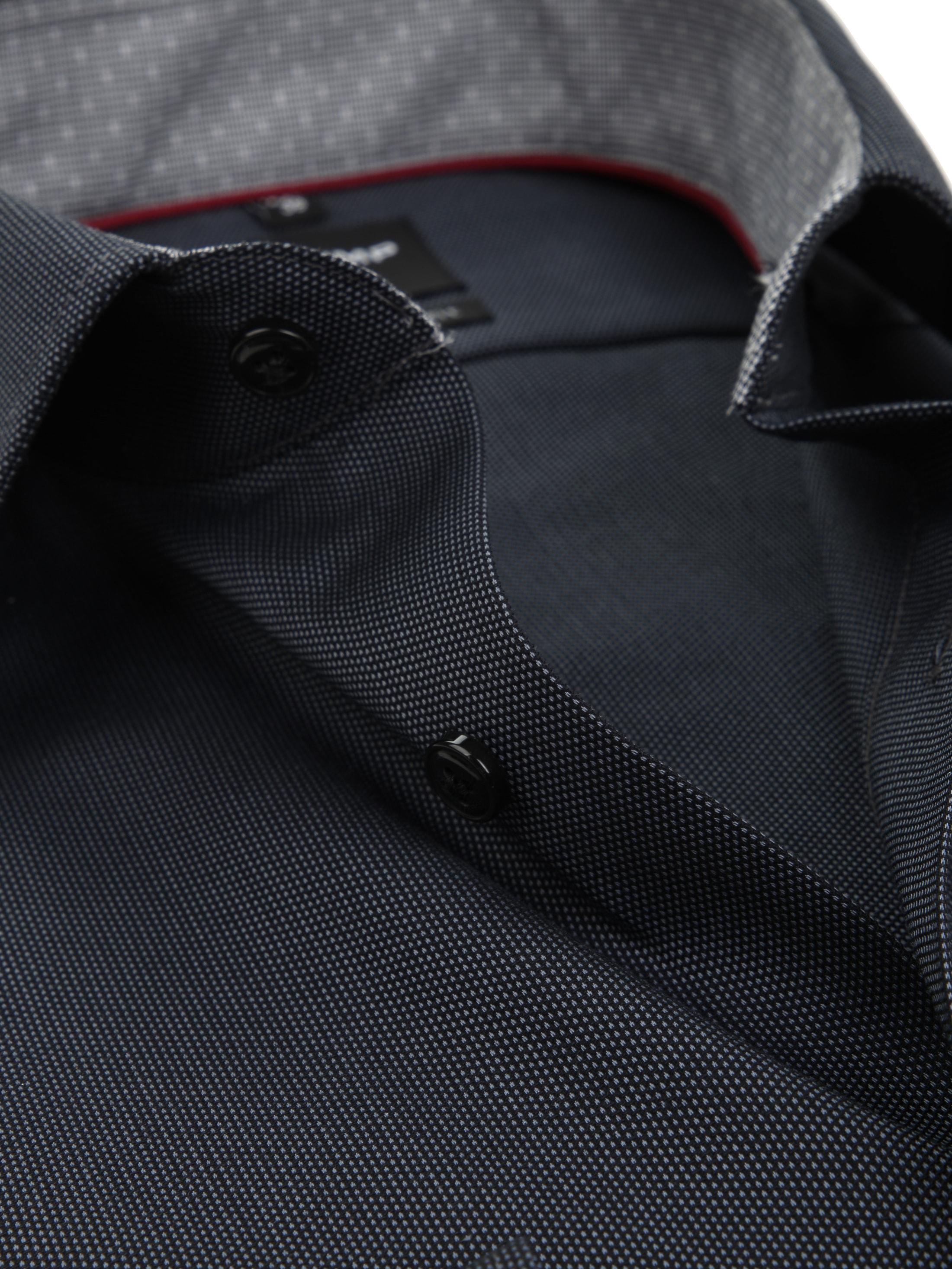 olymp overhemd luxor modern fit sl7 grey 121629 online. Black Bedroom Furniture Sets. Home Design Ideas