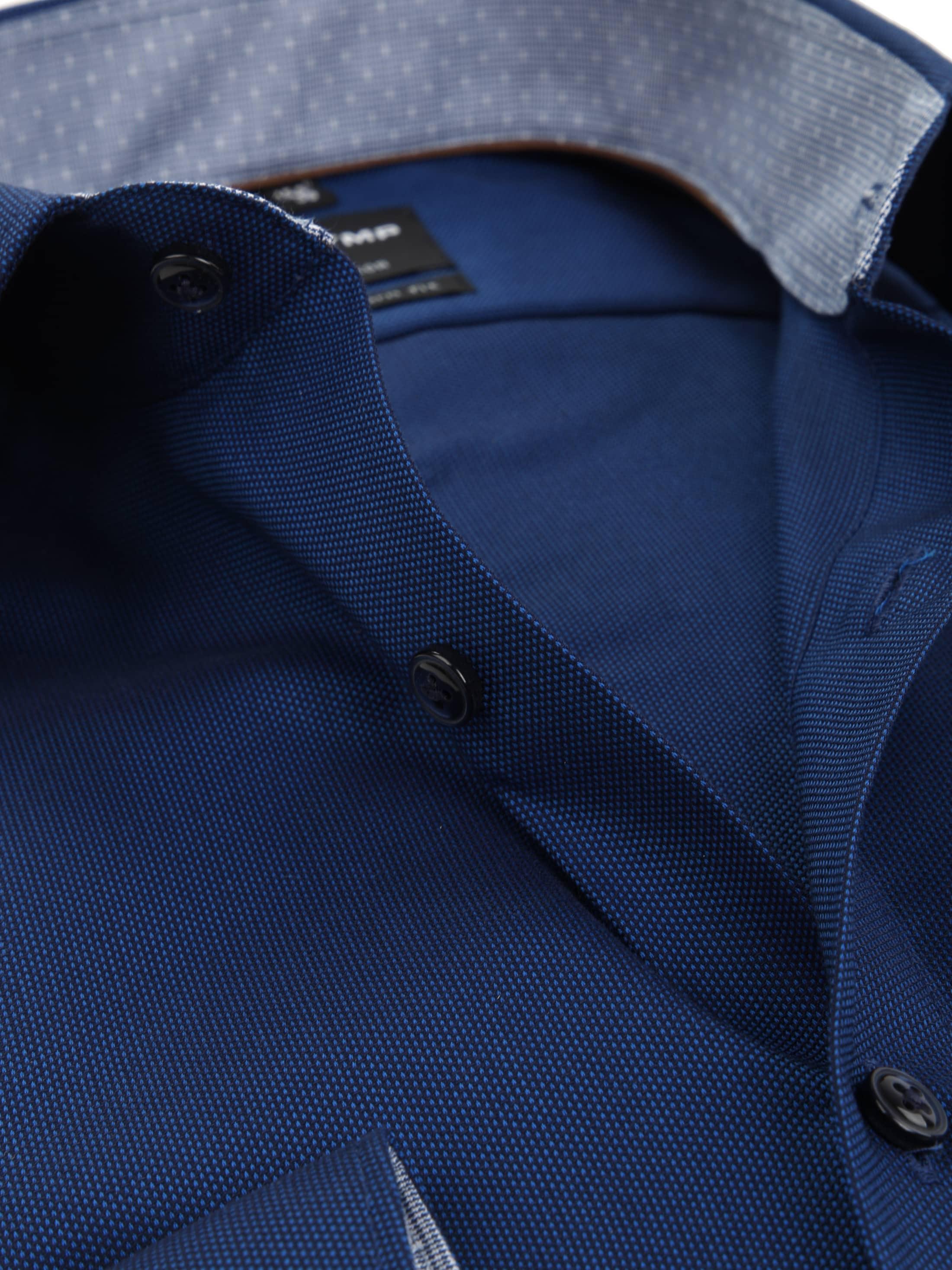olymp overhemd luxor modern fit sl7 navy 121629 online. Black Bedroom Furniture Sets. Home Design Ideas