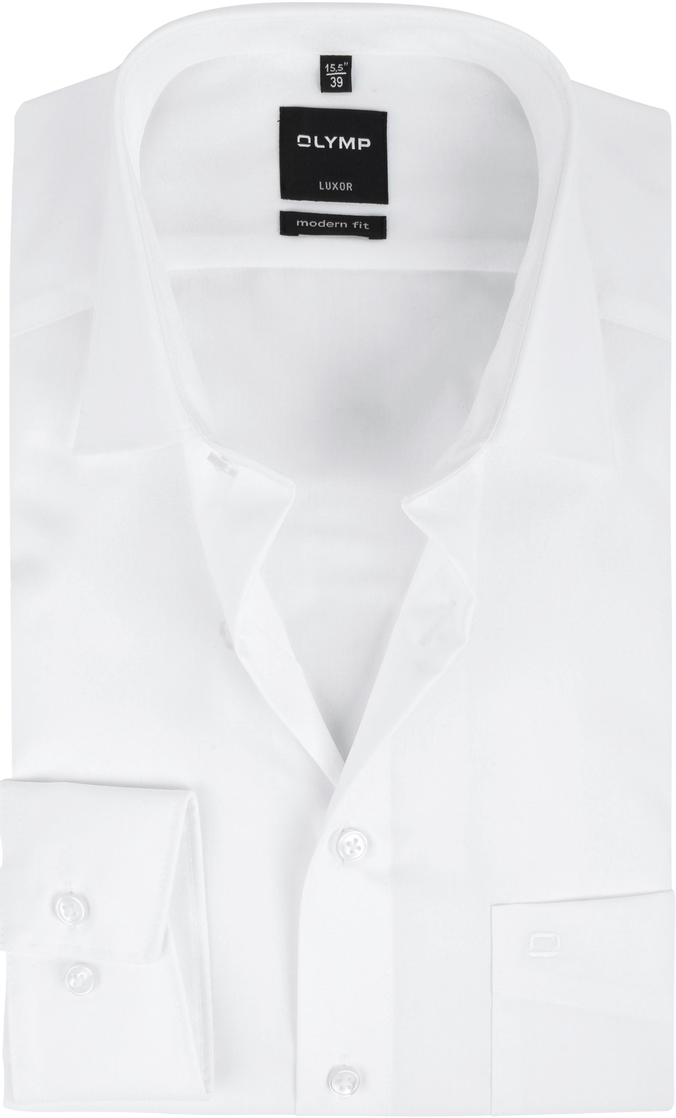Olymp Overhemd Wit