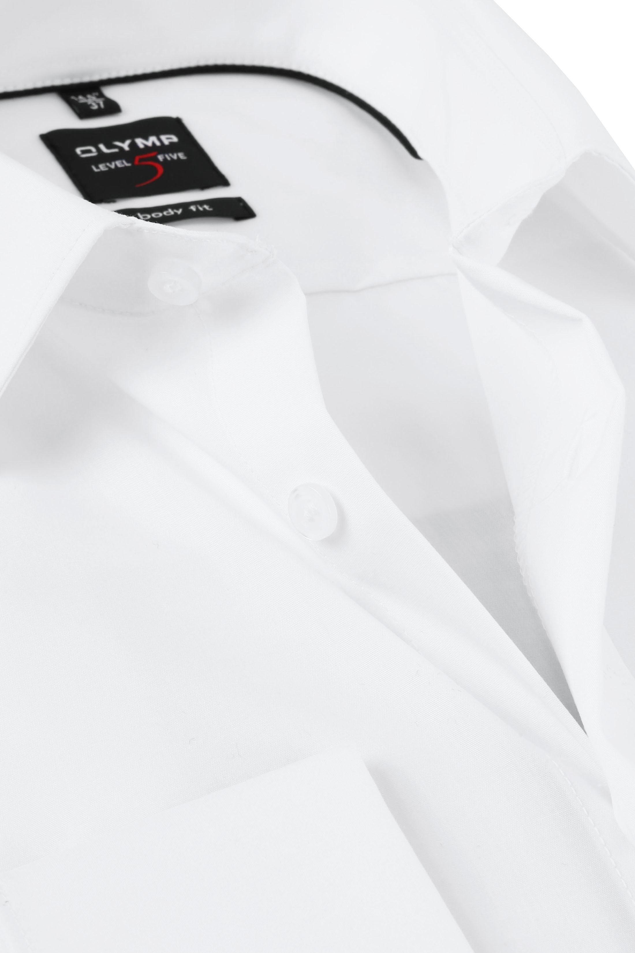 OLYMP Smoking Overhemd Level 5 Wit