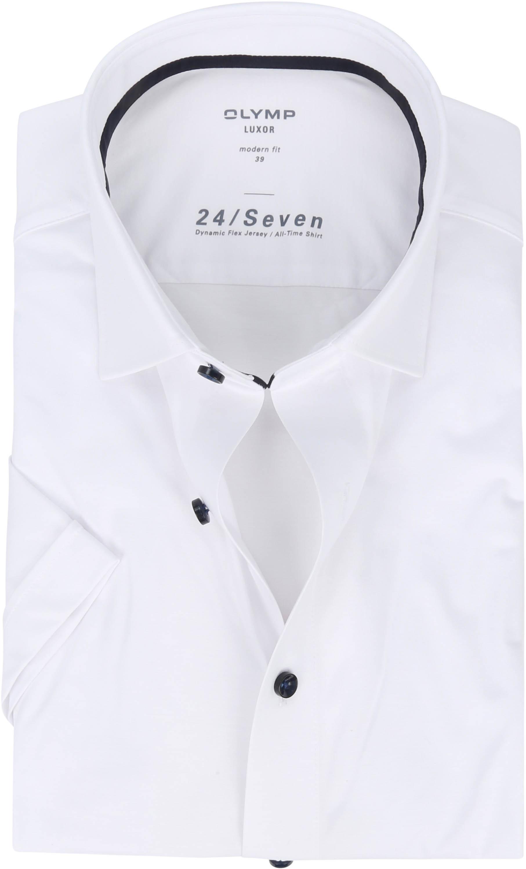 OLYMP SS Overhemd Luxor 24/Seven MF Wit