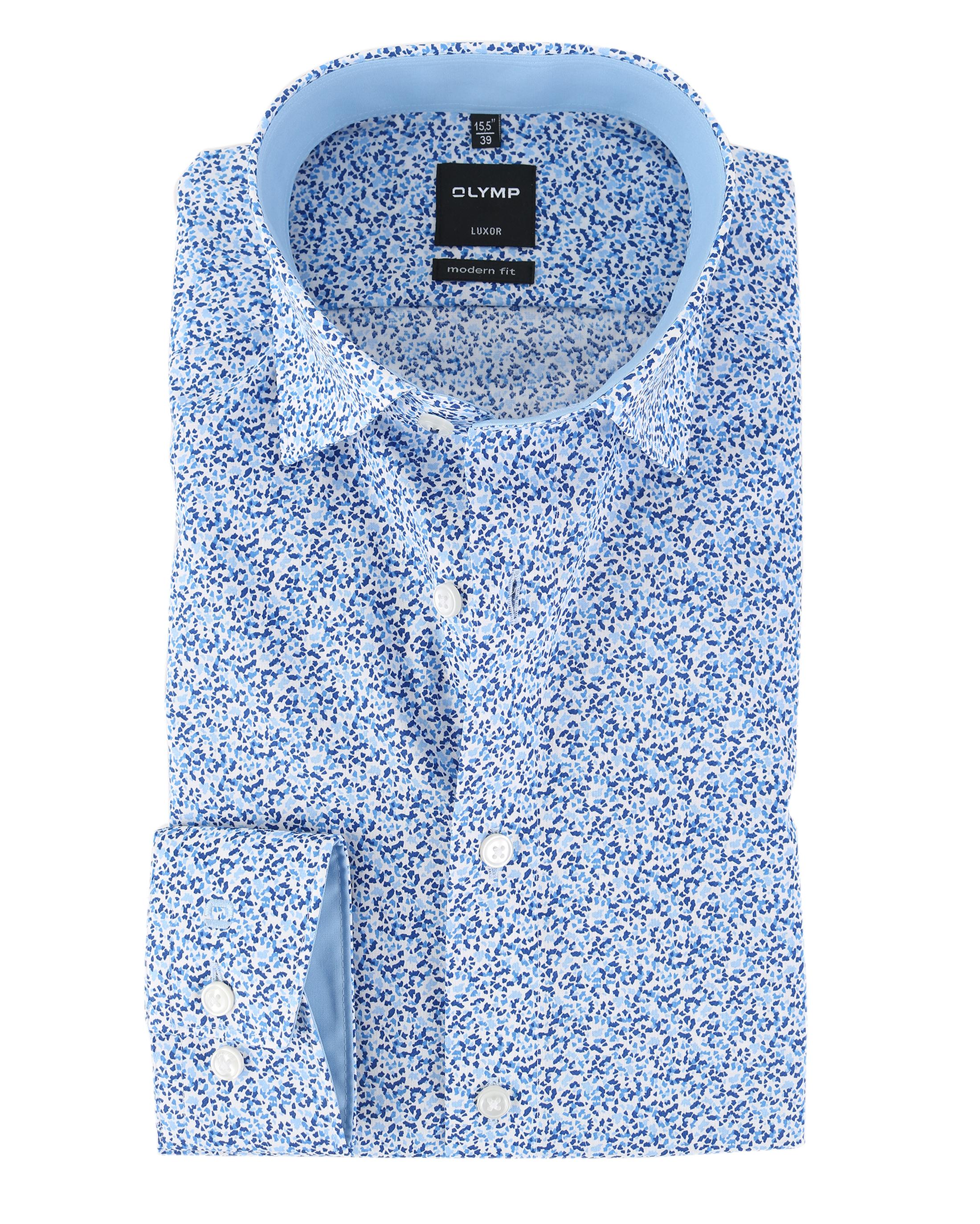 olymp strijkvrij luxor overhemd royal blauw online bestellen suitable. Black Bedroom Furniture Sets. Home Design Ideas