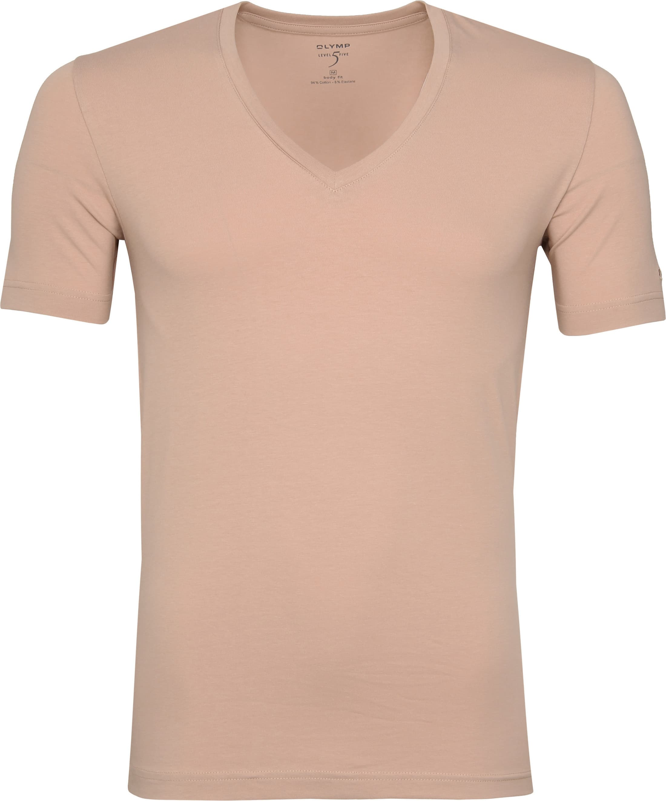 Olymp T shirt V Neck Nude 080412 order online | Suitable