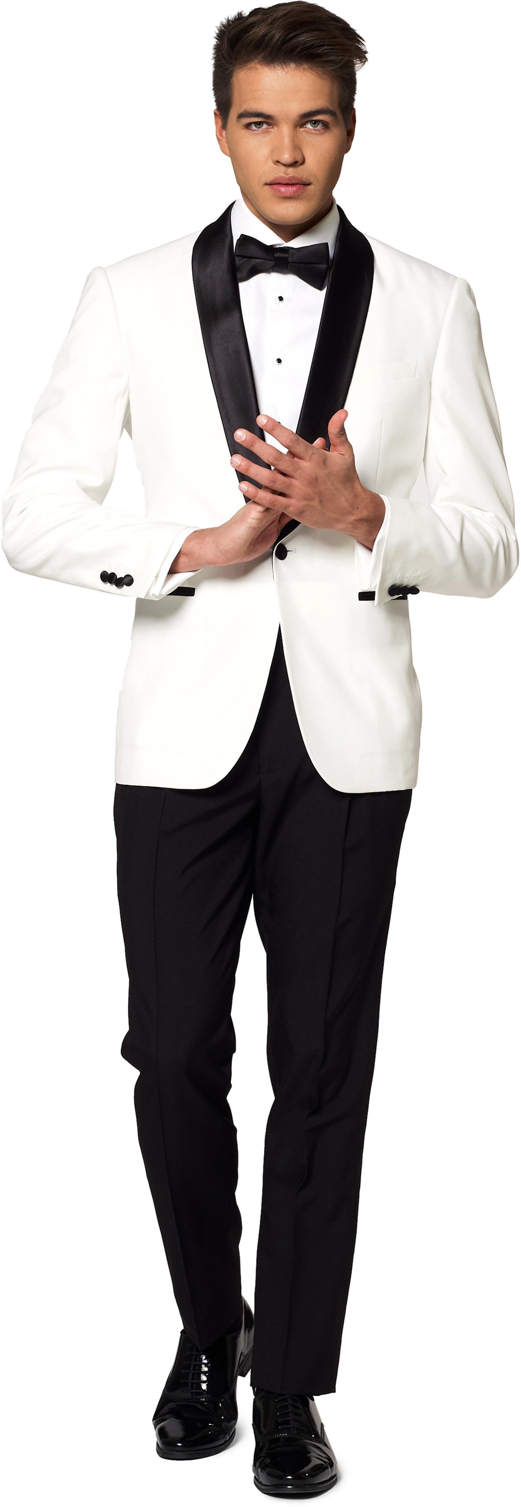 OppoSuits Anzug Pearl White foto 0