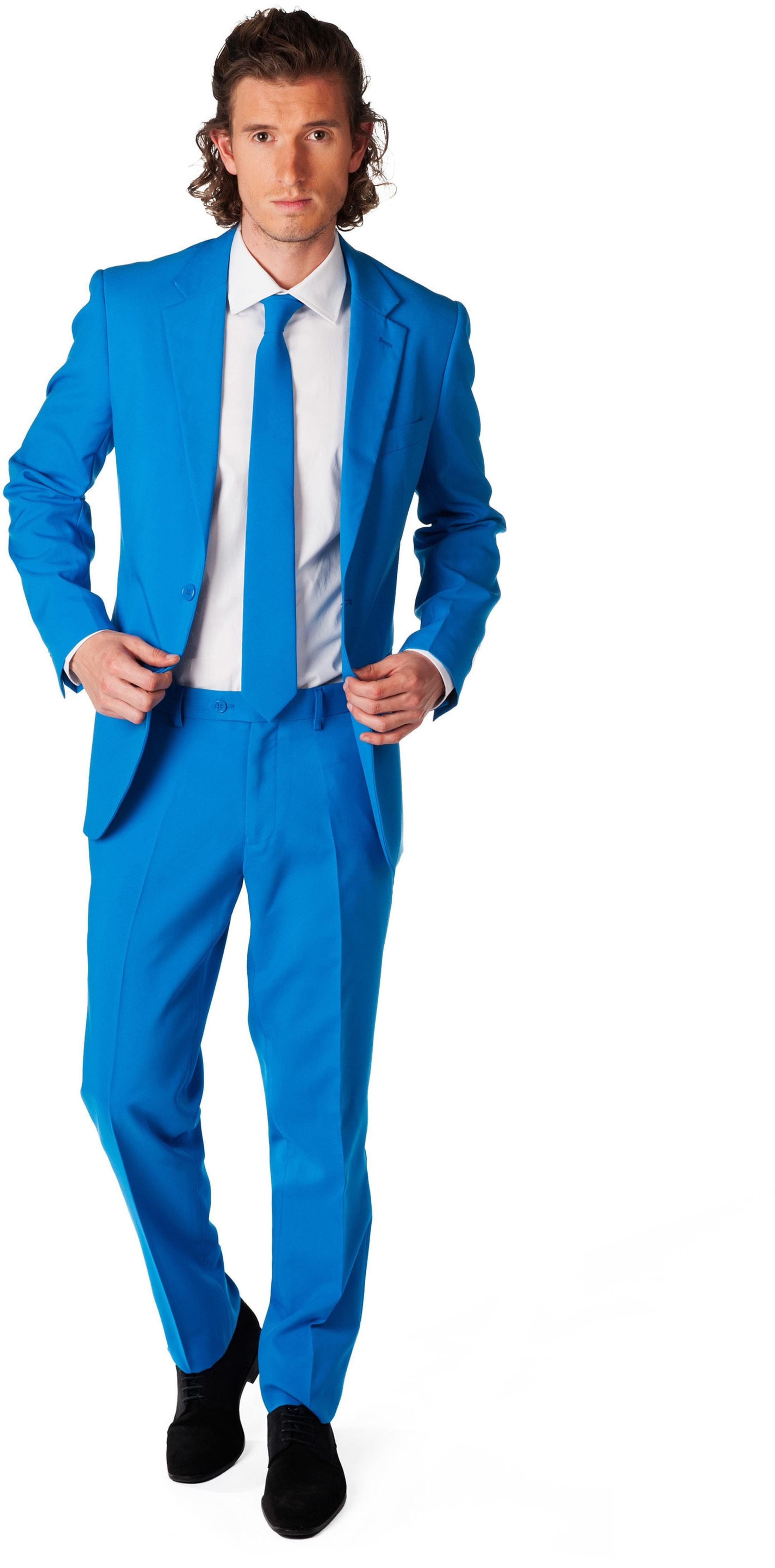 OppoSuits Blue Steel Kostuum foto 0