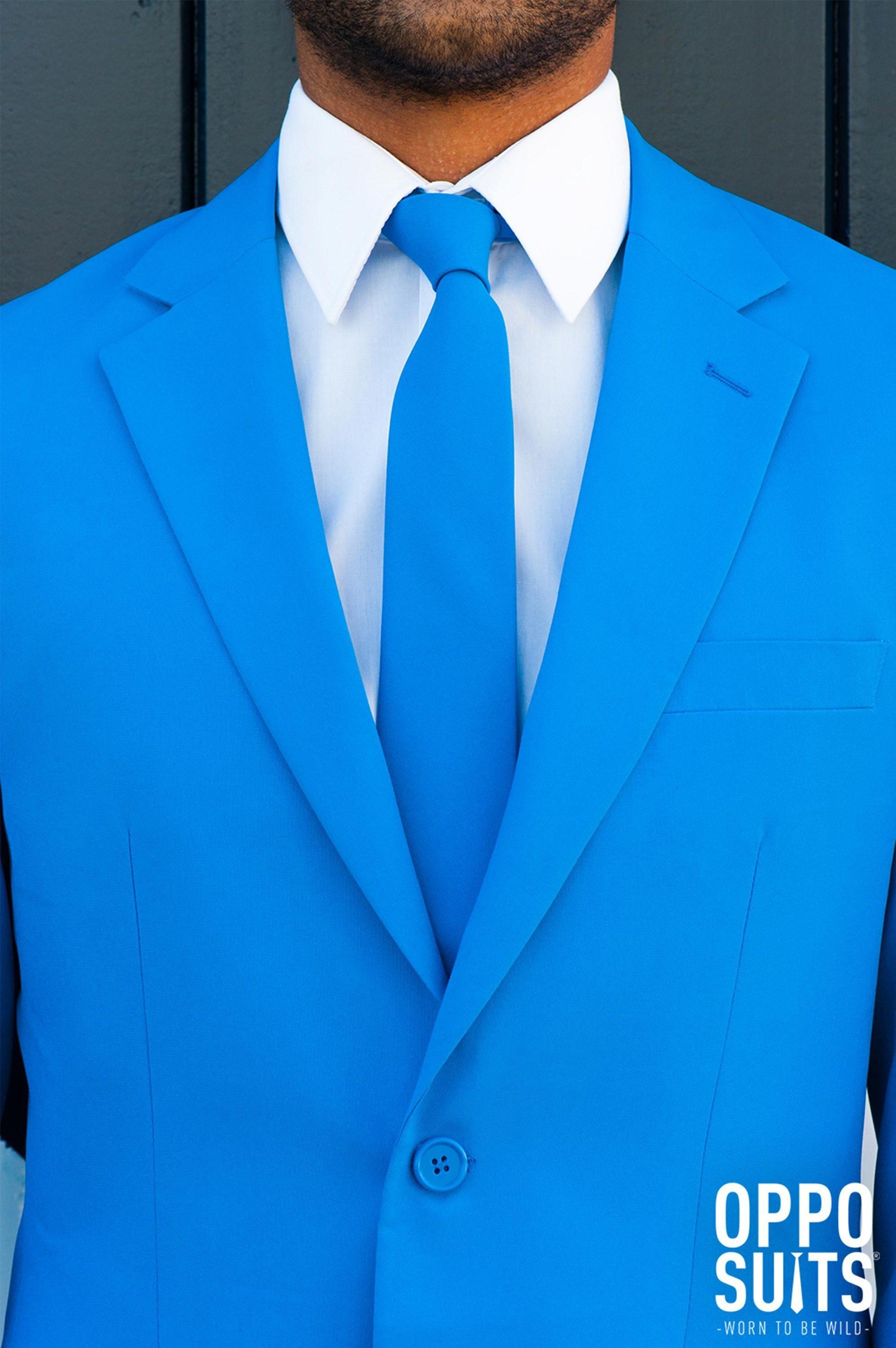 OppoSuits Blue Steel Kostuum foto 3