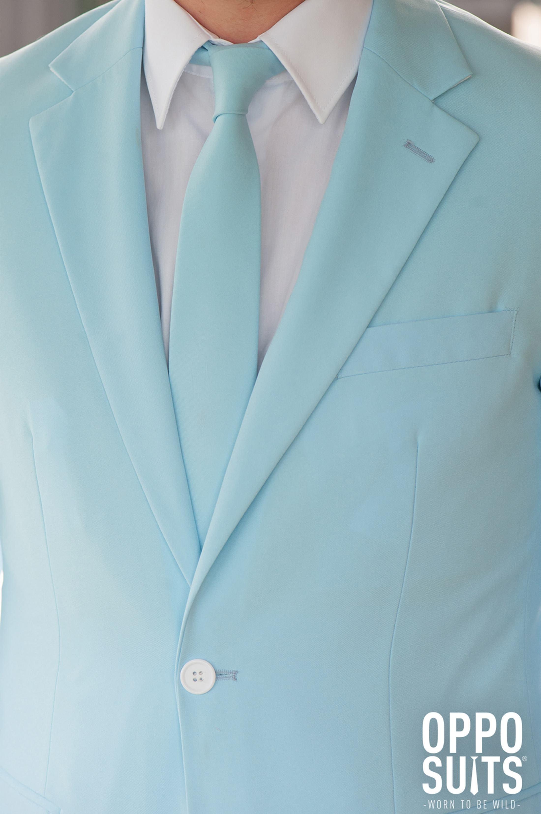 OppoSuits Cool Blue Kostüm foto 3