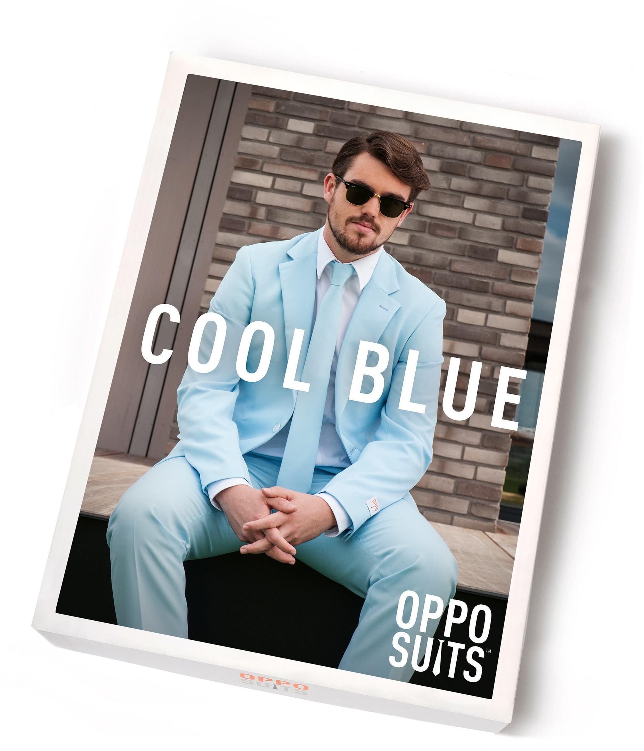 OppoSuits Cool Blue Kostuum foto 4